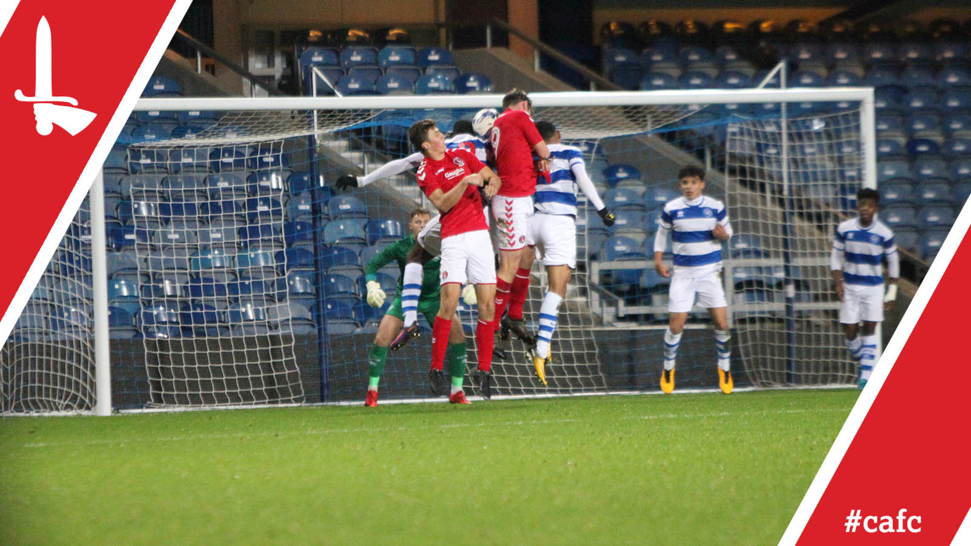FA YOUTH CUP HIGHLIGHTS | QPR 1 Charlton 3