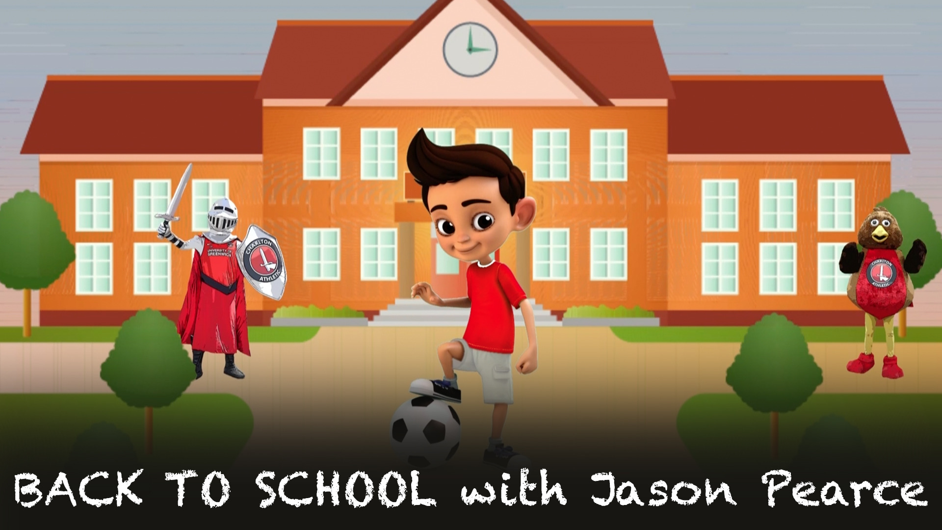 BACK TO SCHOOL | Jason Pearce School Days