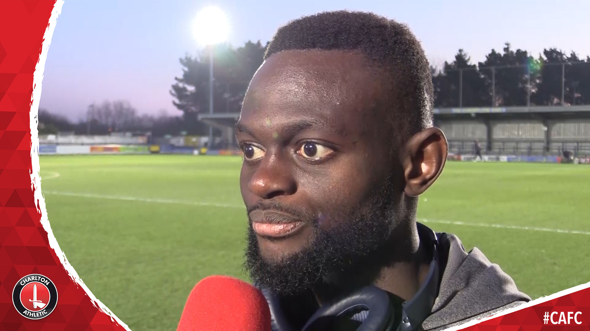 Igor Vetokele on scoring Charlton's dramatic winner at AFC Wimbledon