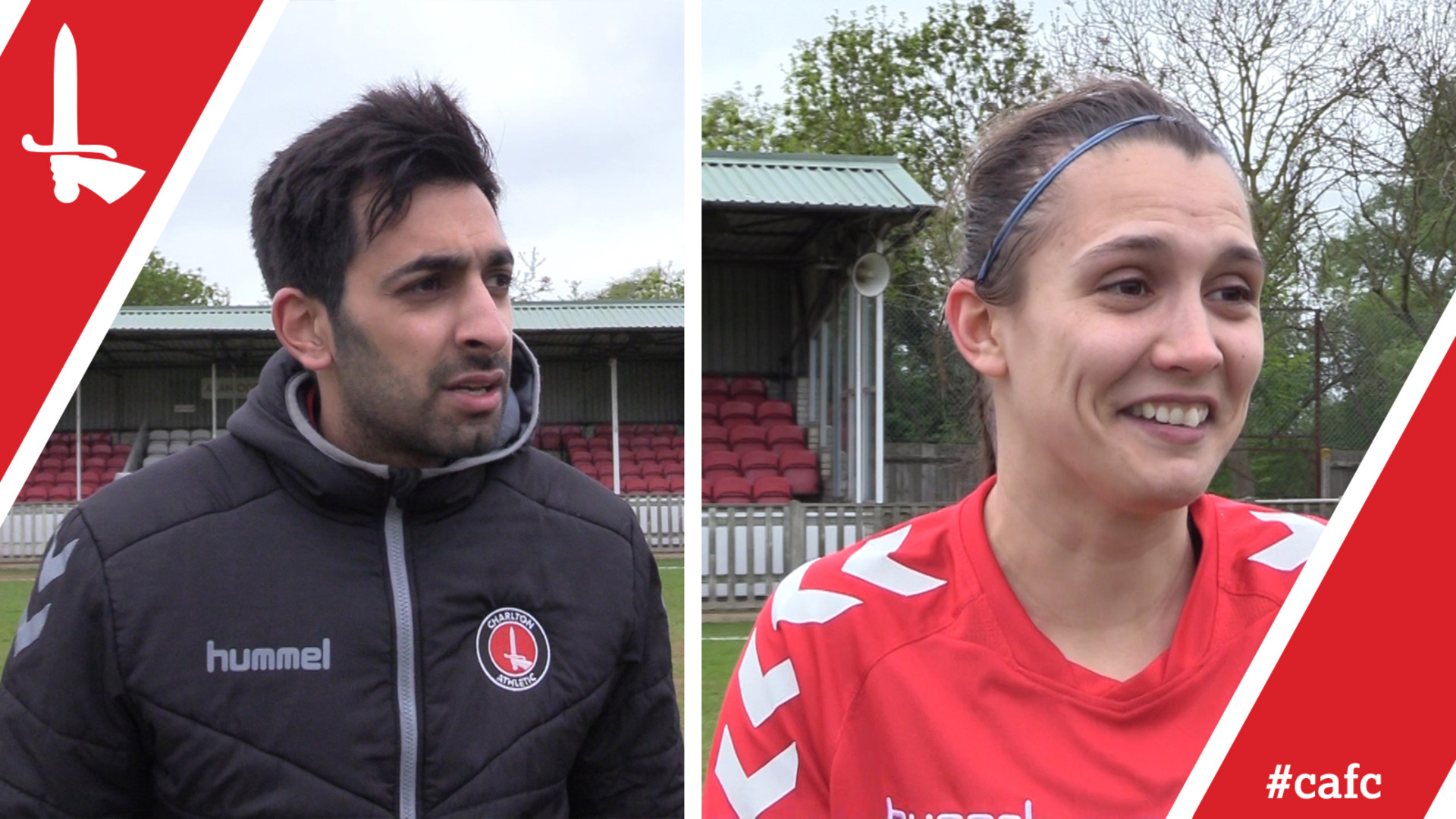 WOMEN'S REACTION | Riteesh Mishra and Olivia Lukasewich pleased with QPR win
