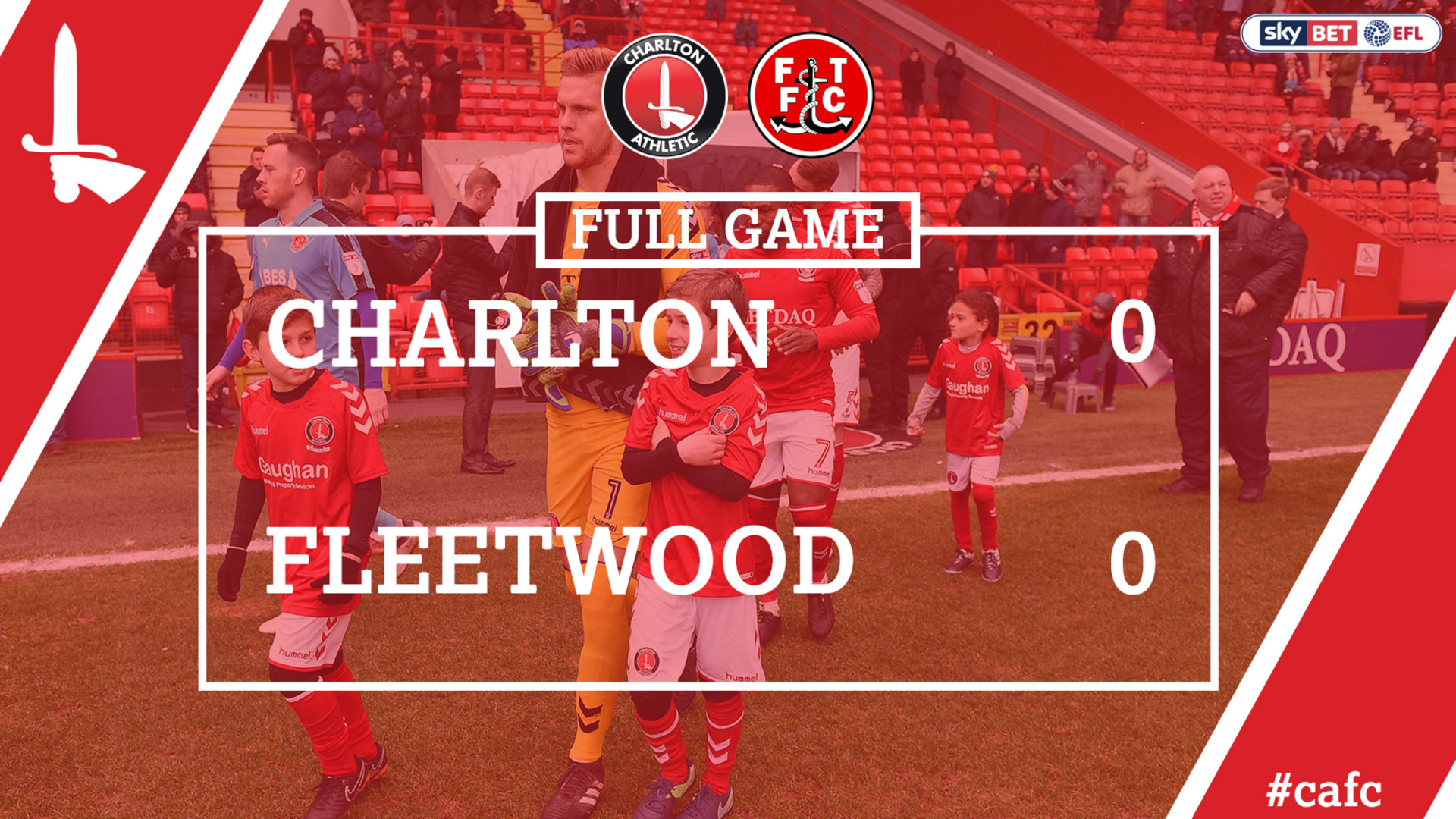 FULL GAME | Charlton 0 Fleetwood 0 (March 2018)