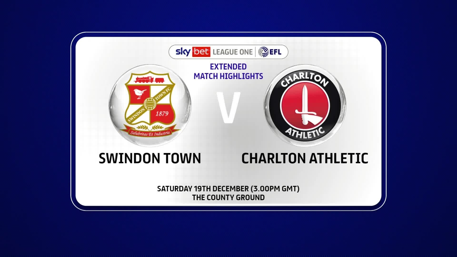 EXTENDED HIGHLIGHTS | Swindon Town 2 Charlton 2 (December 2020)