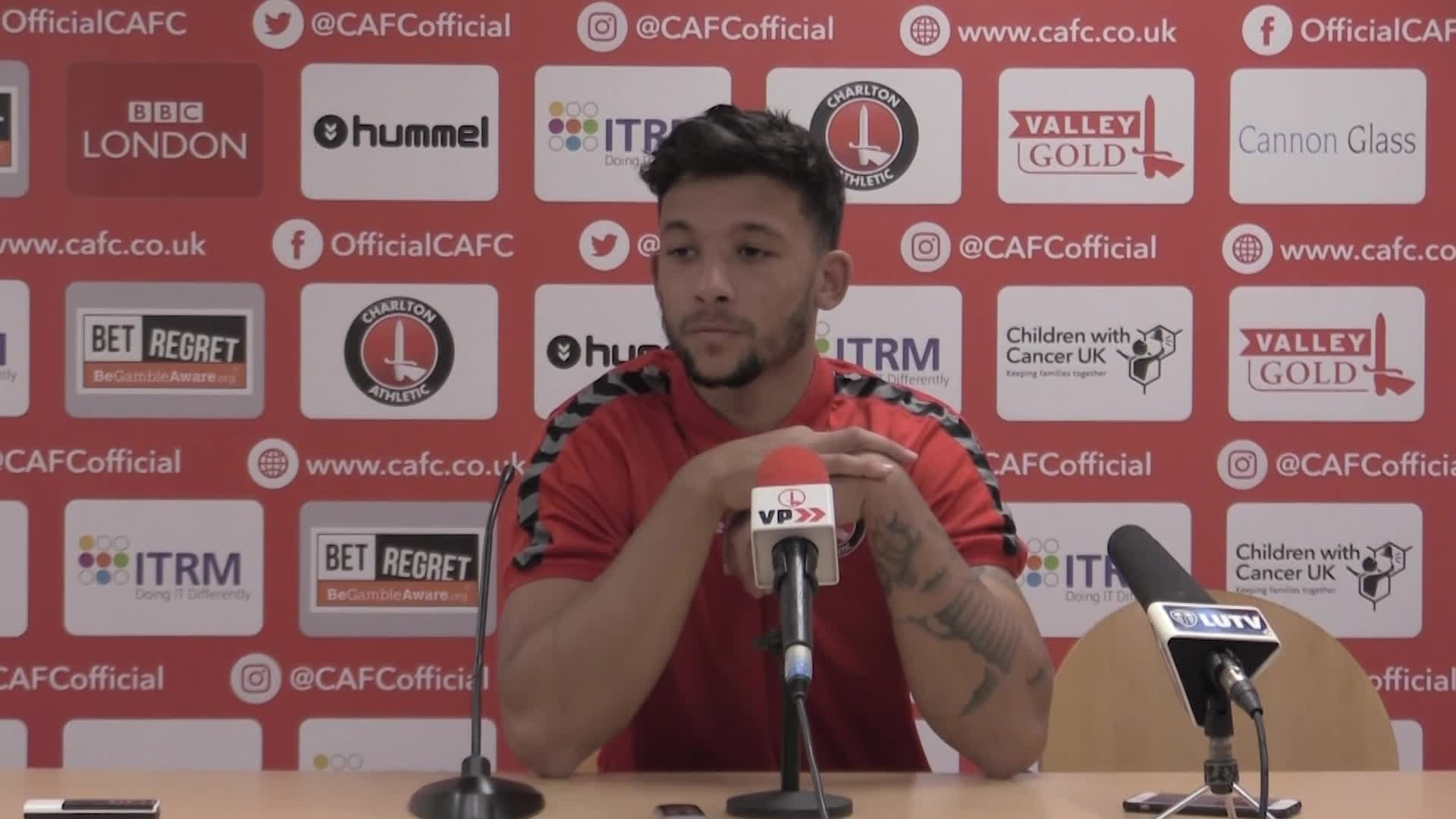 "POST-MATCH | Bonne ""ecstatic"" with first Charlton goal"