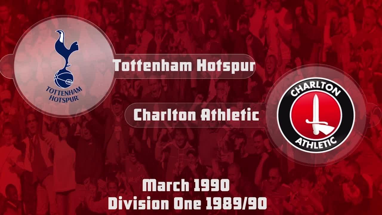 37 HIGHLIGHTS | Tottenham 3 Charlton 0 (Mar 1990)