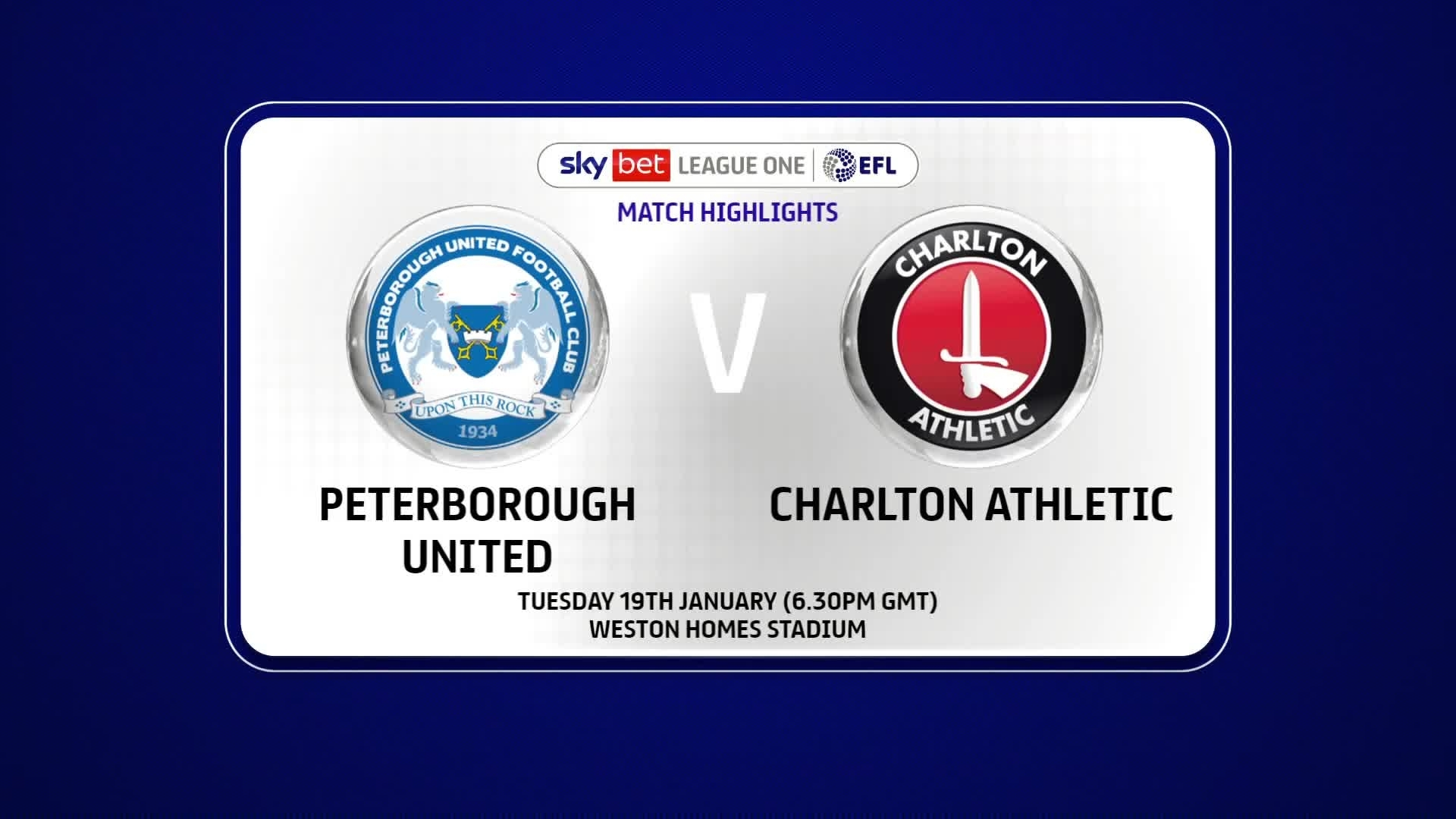 HIGHLIGHTS | Peterborough United 2 Charlton 1 (January 2021)