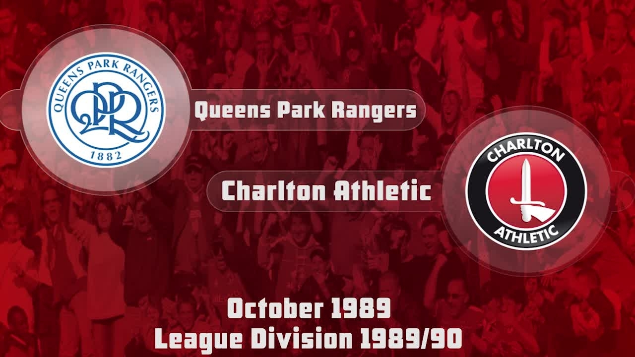 12 HIGHLIGHTS | QPR 0 Charlton 1 (Oct 1989)