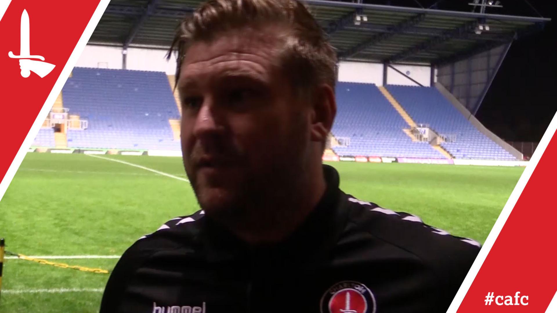Karl Robinson reflects on Oxford United draw