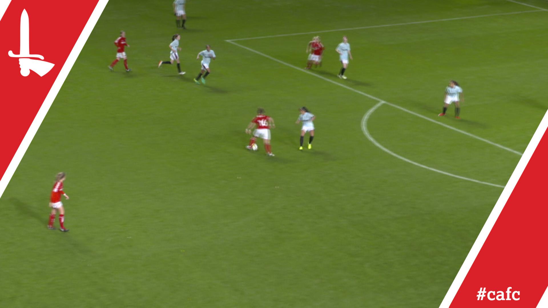WOMEN'S HIGHLIGHTS   Charlton 1 West Ham 3