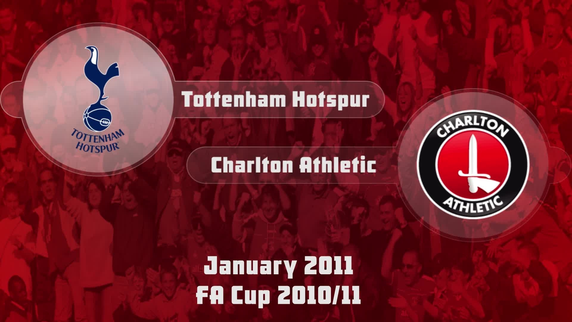 32 HIGHLIGHTS | Tottenham 3 Charlton 0 (Jan 2011)