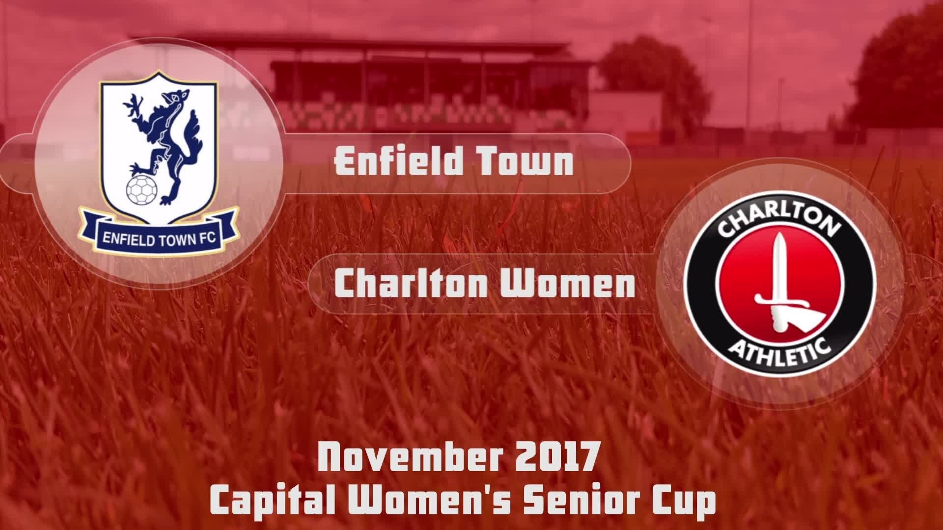 WOMEN'S HIGHLIGHTS | Enfield Town 0 Charlton 6