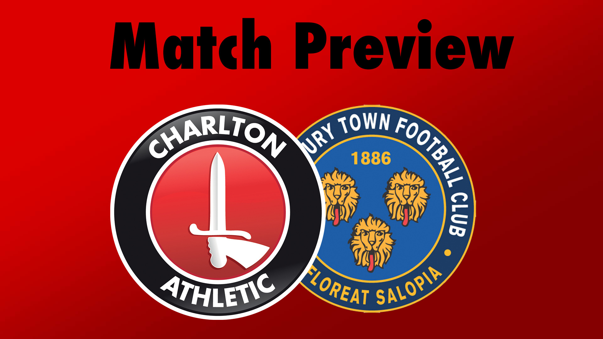 MATCH PREVIEW | Charlton v Shrewsbury