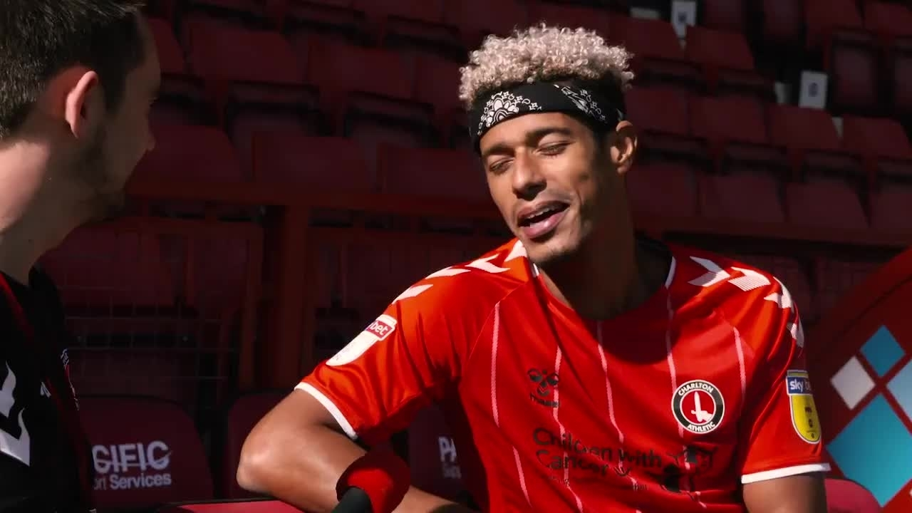 Lyle Taylor on going pink for October for Cancer Research