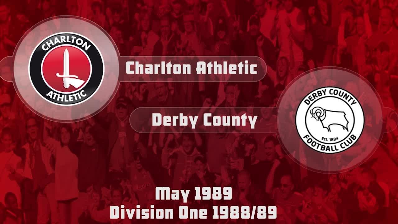 44 HIGHLIGHTS | Charlton 3 Derby 0 (May 1989)