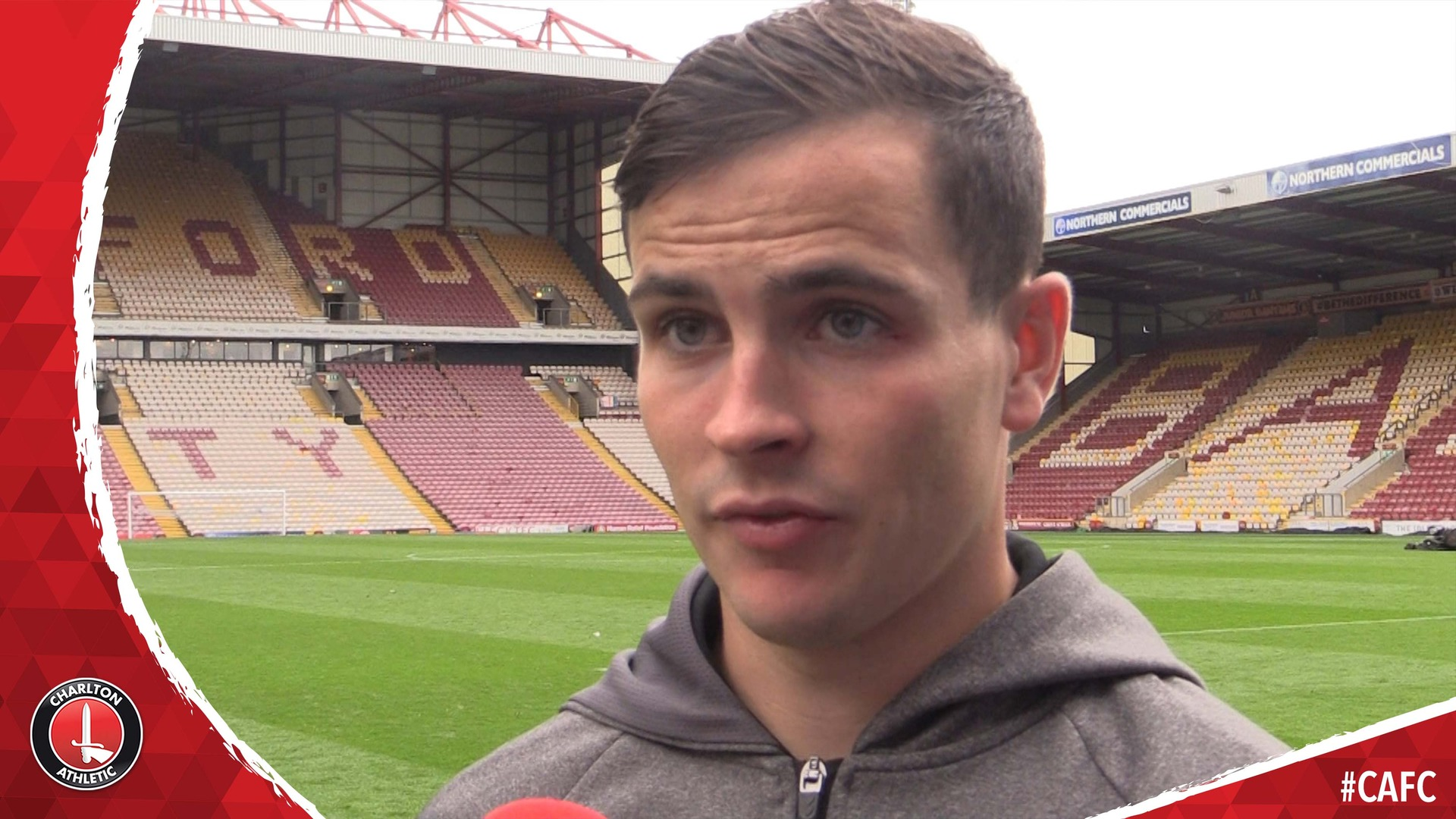 Former Bradford man Josh Cullen on Charlton's win over the Bantams