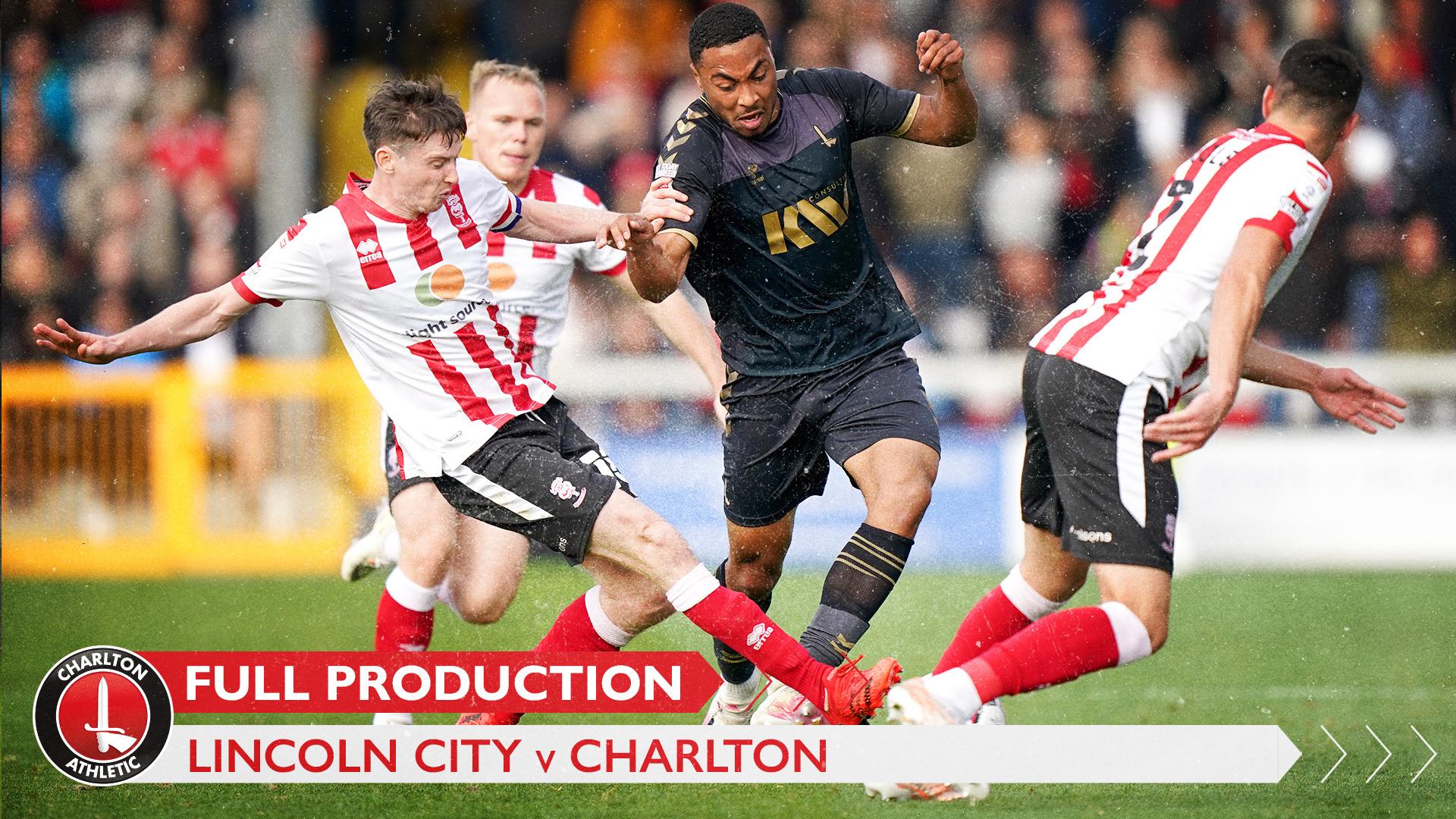 CharltonTV | Full broadcast - Lincoln City (October 2021)
