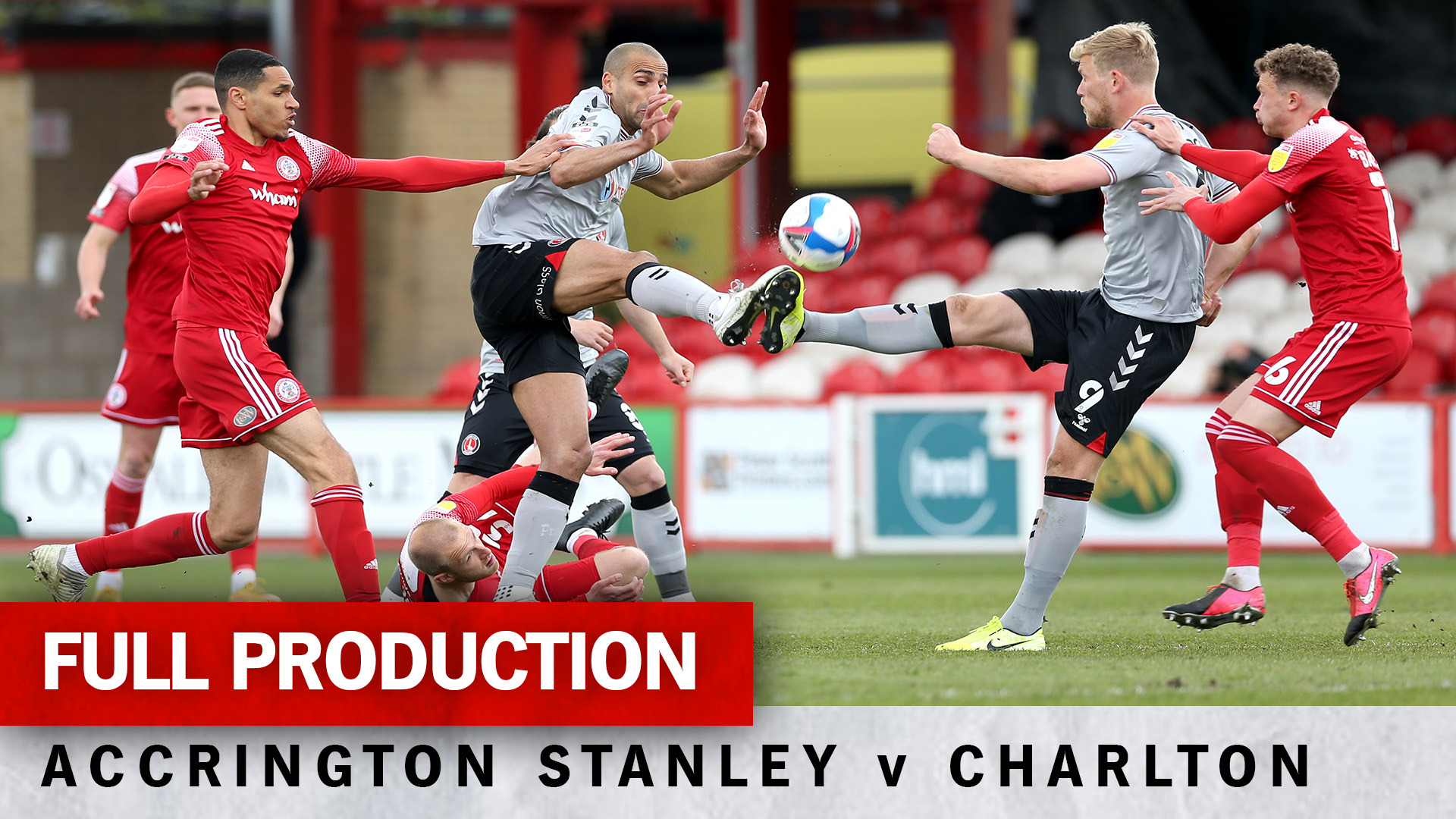 Charlton TV | Full broadcast - Accrington Stanley (a) (May 2021)