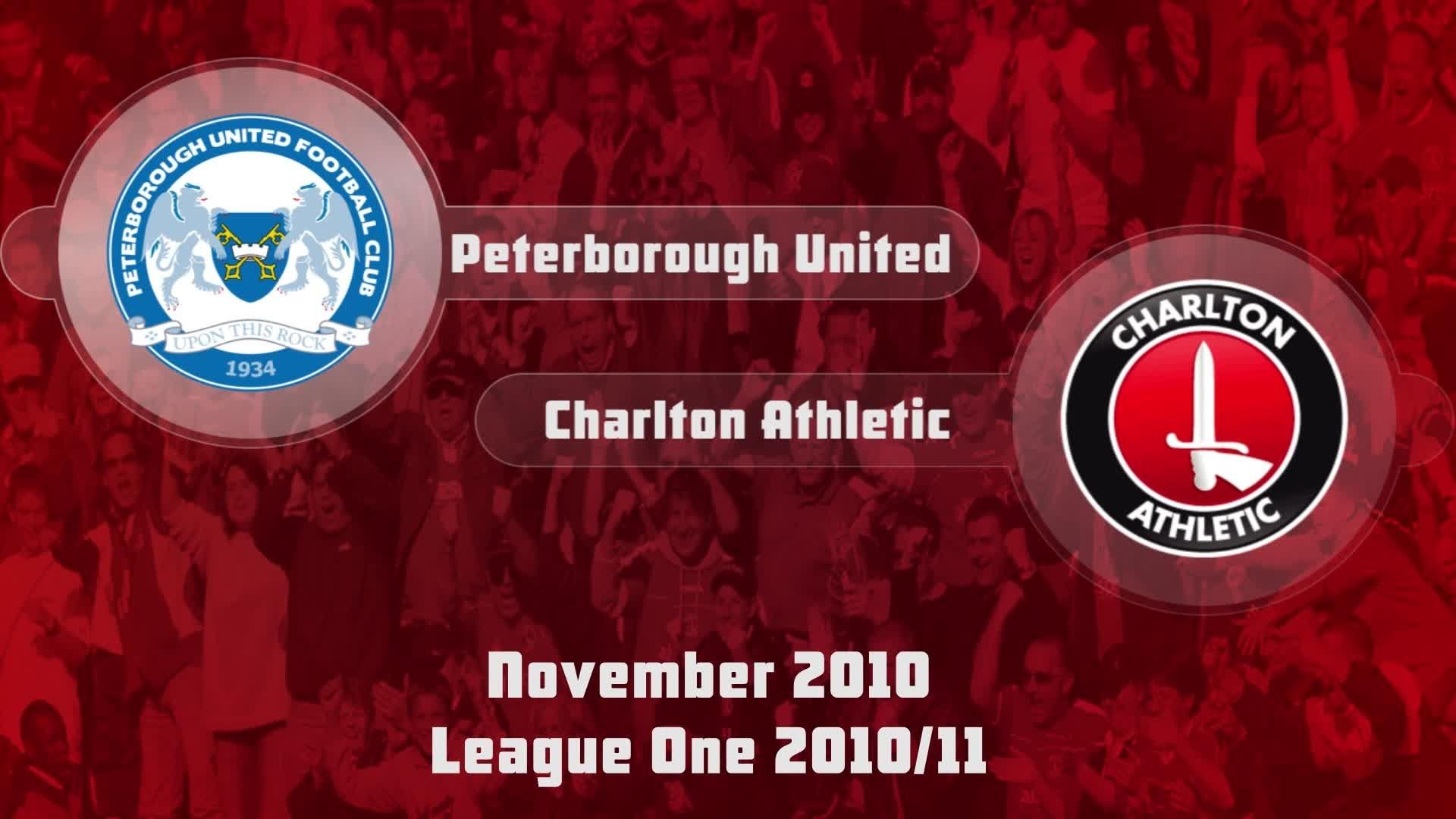 21 HIGHLIGHTS | Peterborough 1 Charlton 5 (Nov 2010)