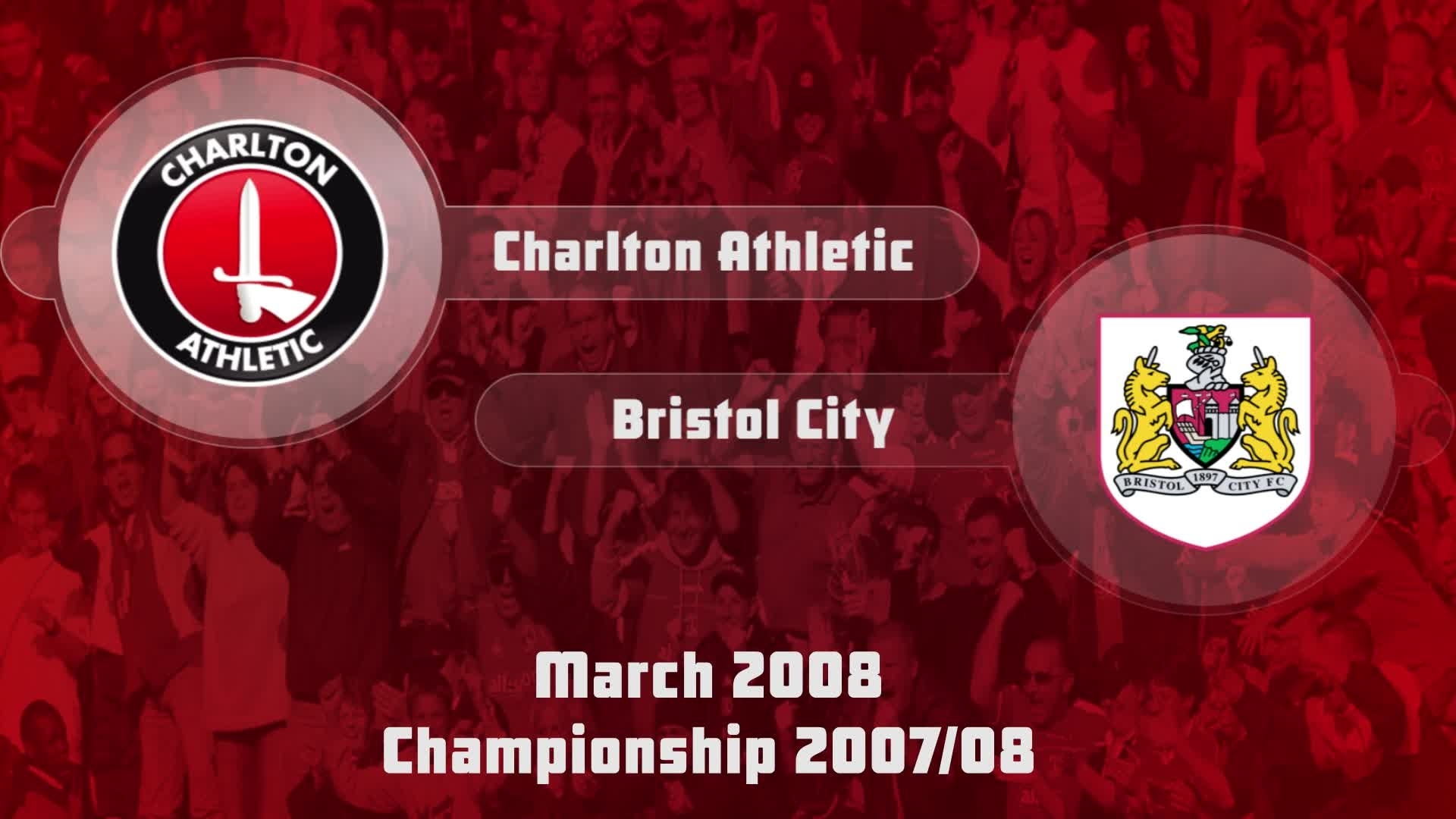 41 HIGHLIGHTS | Charlton 1 Bristol City 1 (March 2008)