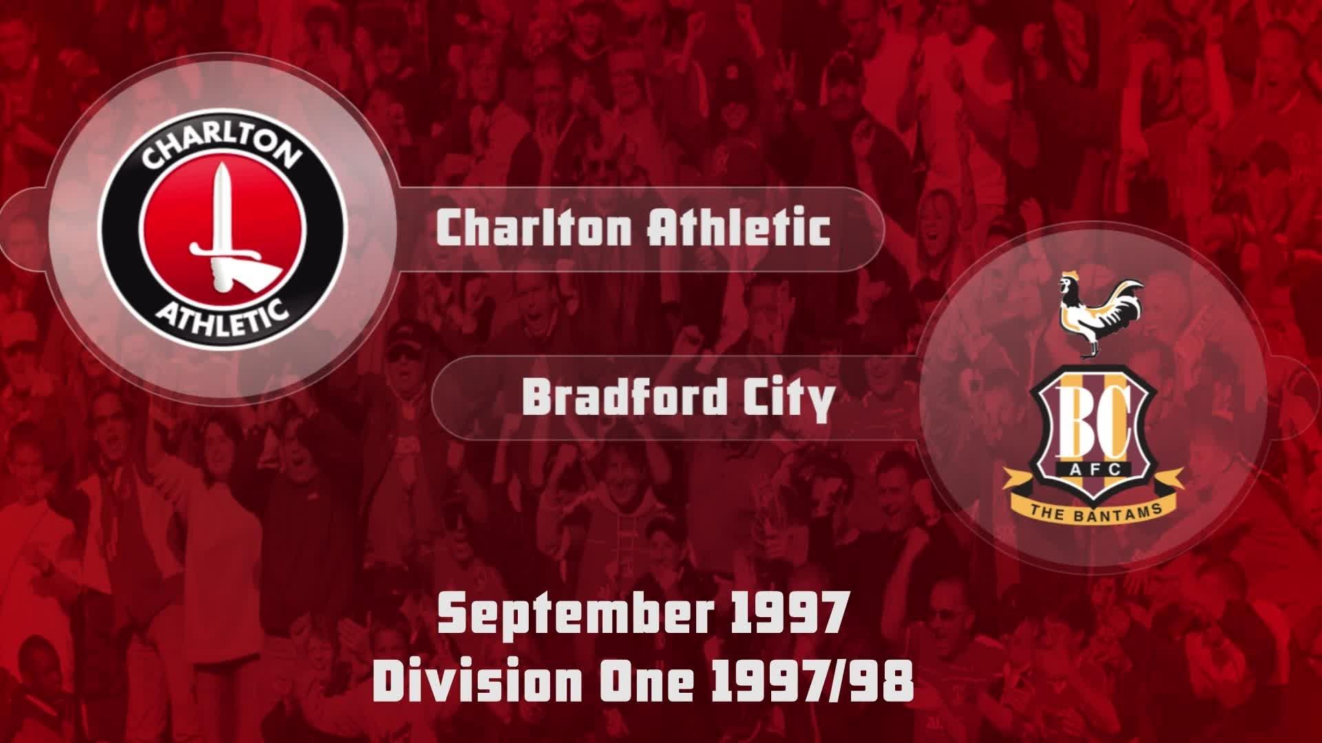 09 HIGHLIGHTS | Charlton 4 Bradford 1 (Sep 1997)