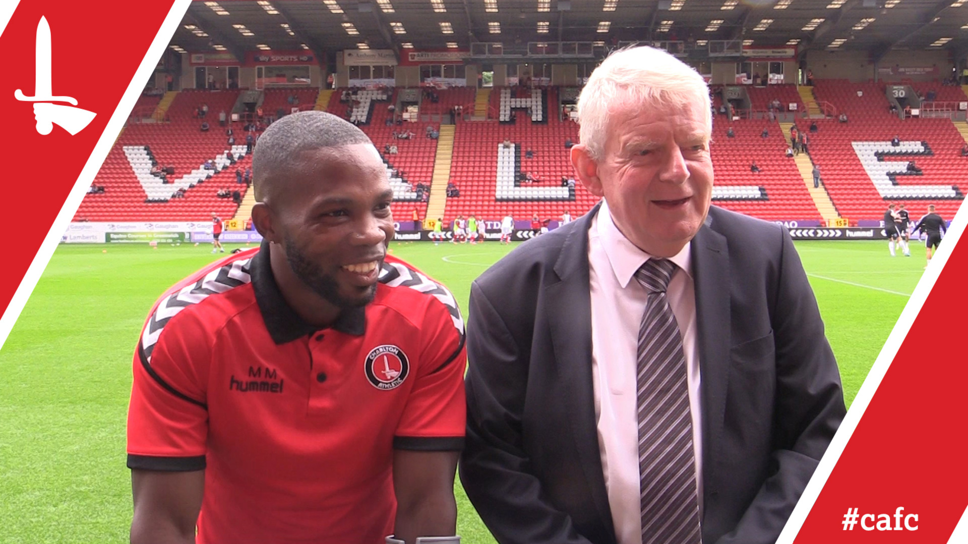Legendary commentator John Motson on his special relationship with Charlton and Mark Marshall