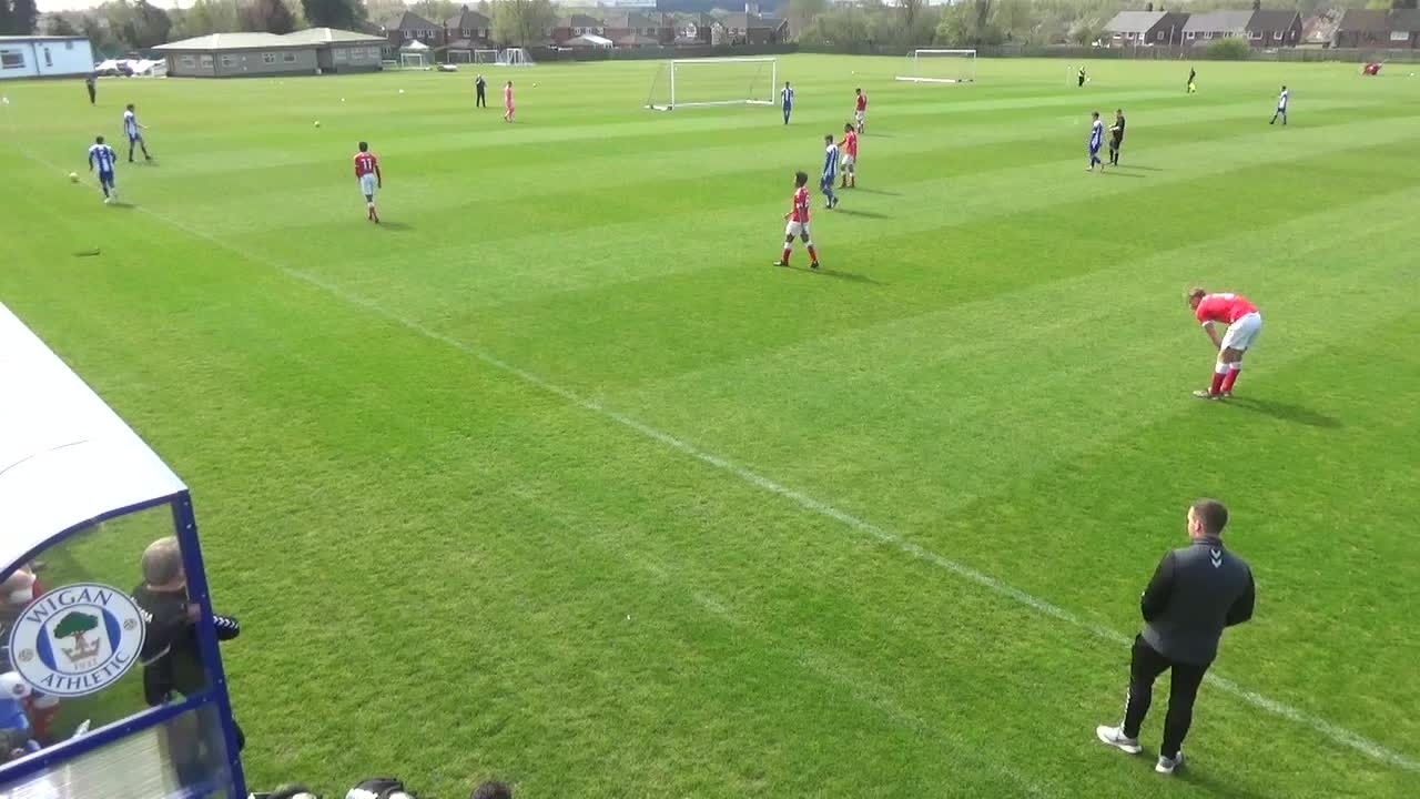 U18 Highlights | Wigan Athletic 3 Charlton 4 (April 2021)