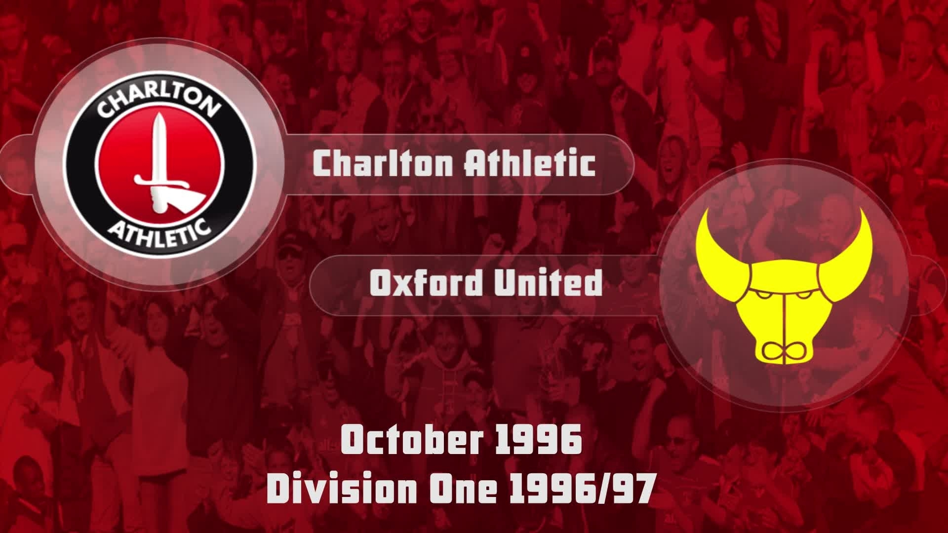 15 HIGHLIGHTS | Charlton 2 Oxford 0 (Oct 1996)
