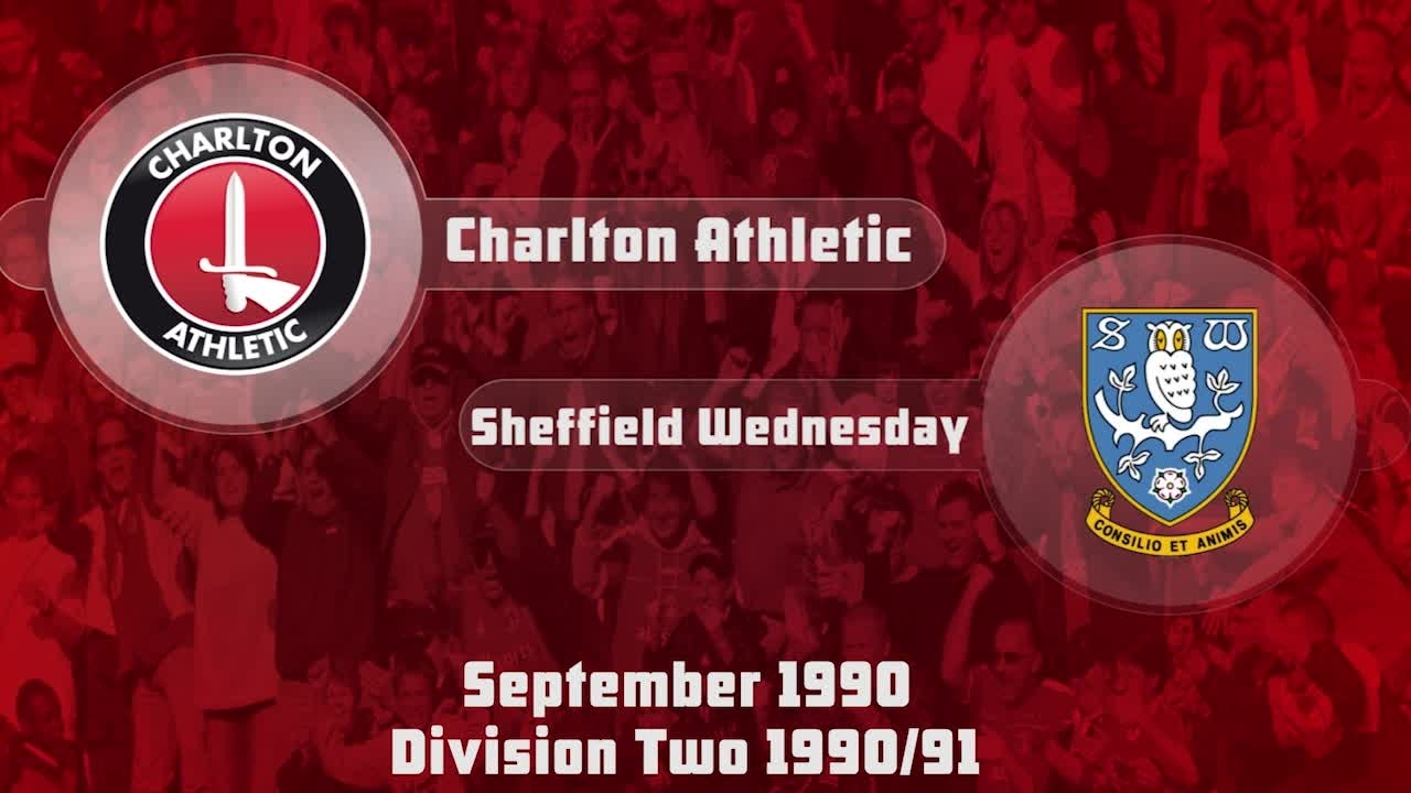 03 HIGHLIGHTS   Charlton 0 Sheff Weds 1 (Sept 1990)