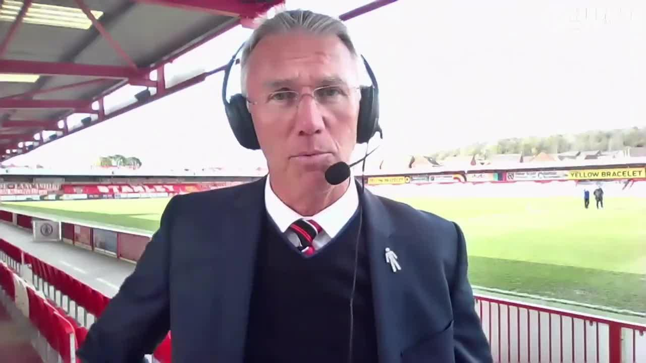 POST-MATCH | Adkins' post-Accrington Stanley interview (May 2021)
