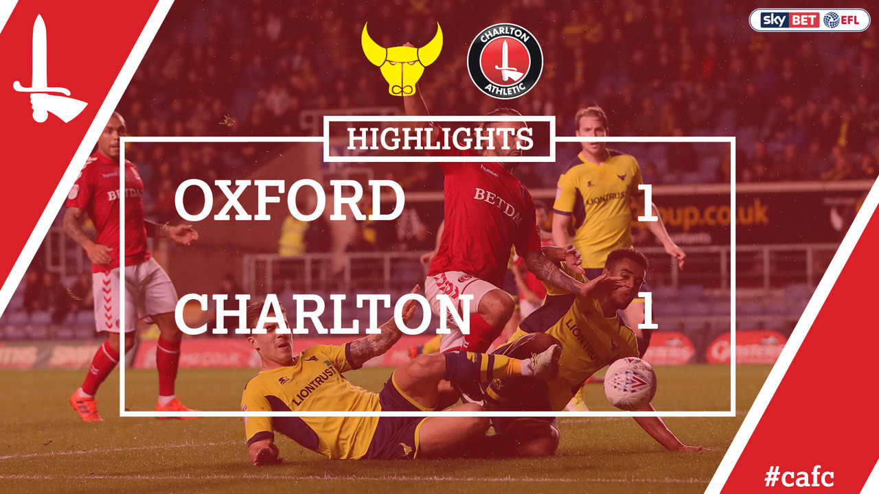 15 HIGHLIGHTS | Oxford United 1 Charlton 1 (Oct 2017)