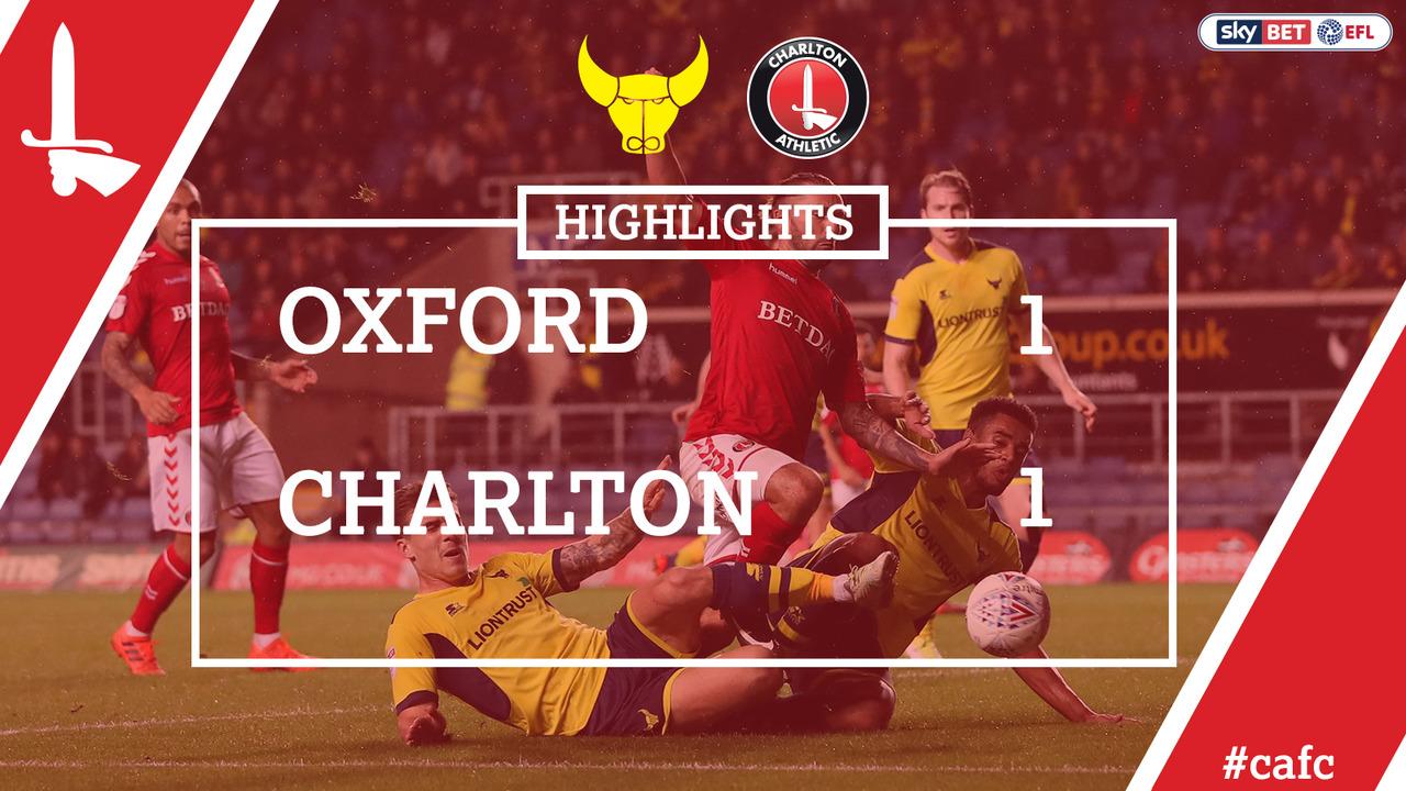 16 HIGHLIGHTS | Oxford United 1 Charlton 1 (Oct 2017)