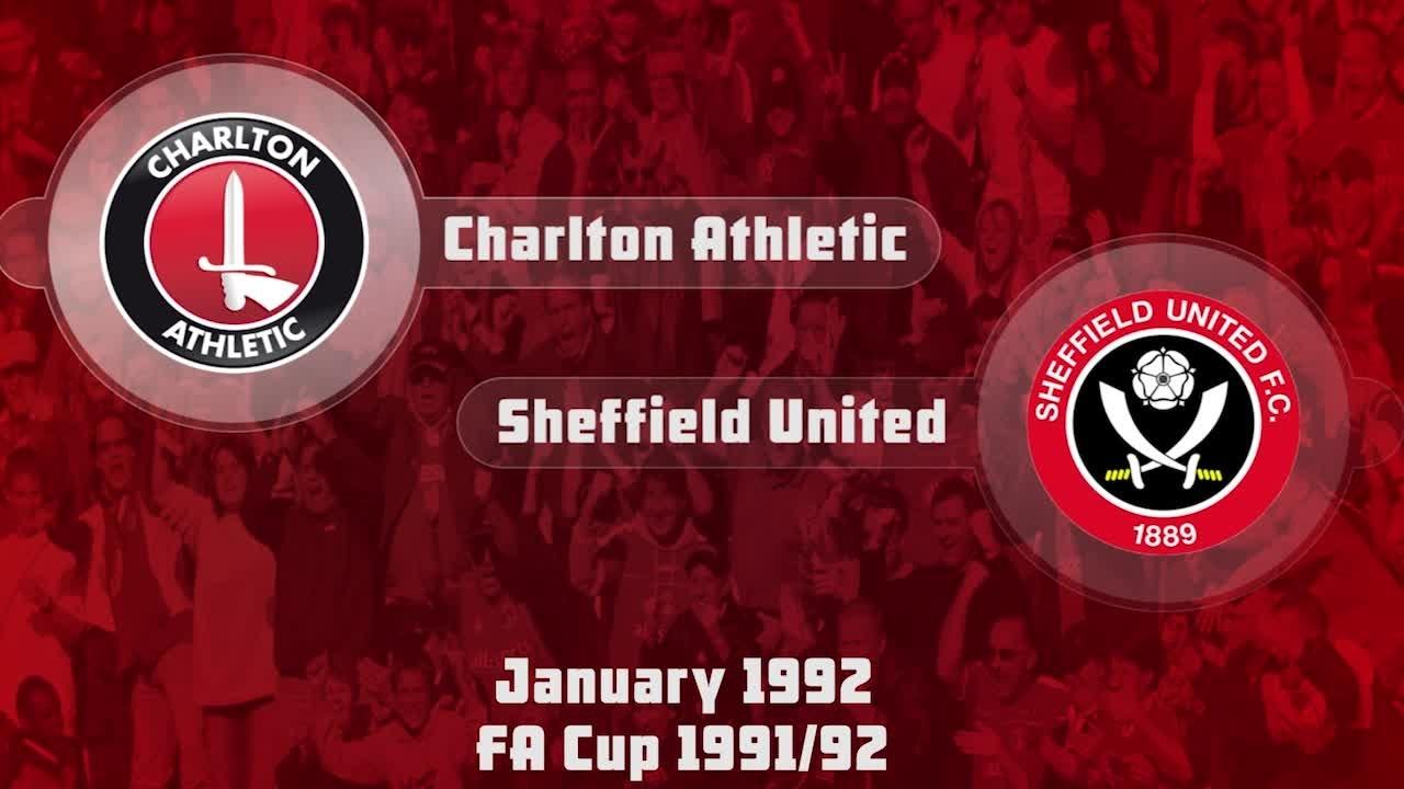 34 HIGHLIGHTS | Charlton 0 Sheff Utd 0 (FA Cup Jan 1992)