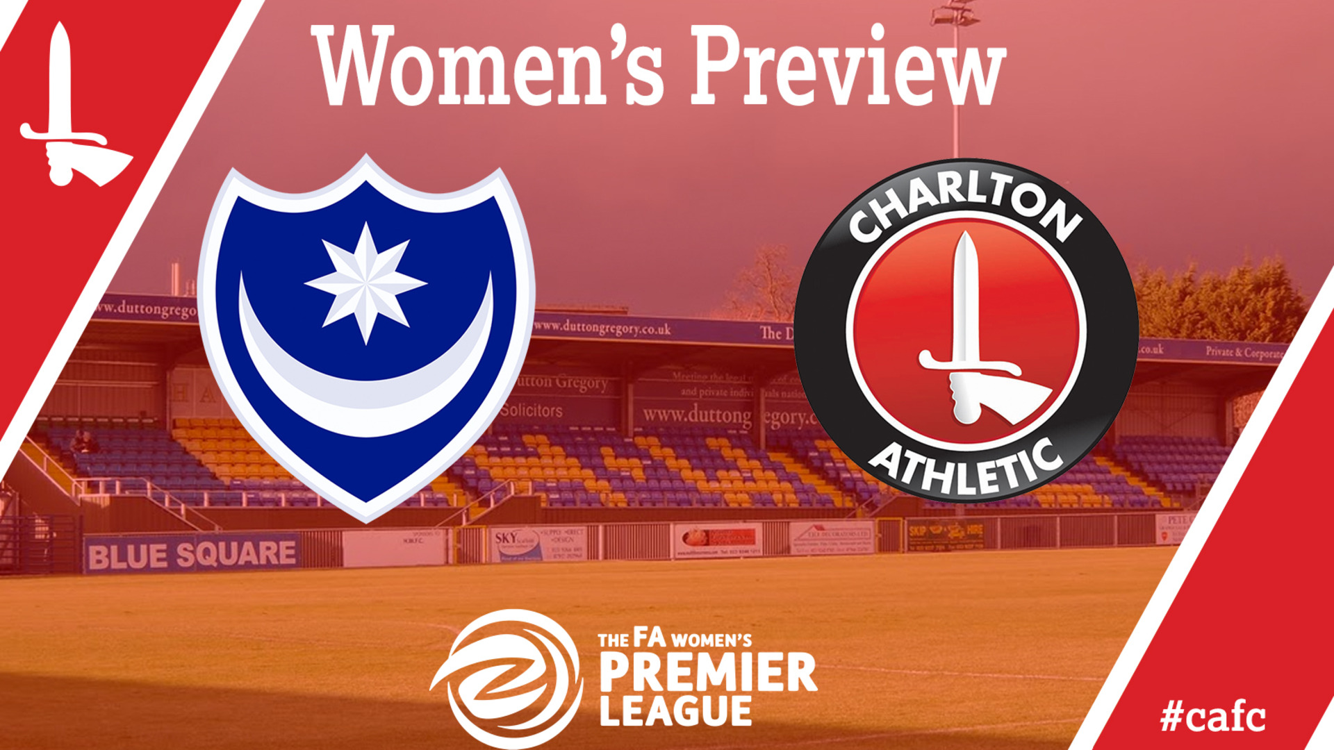 WOMEN'S PREVIEW | Portsmouth Ladies vs Charlton Women