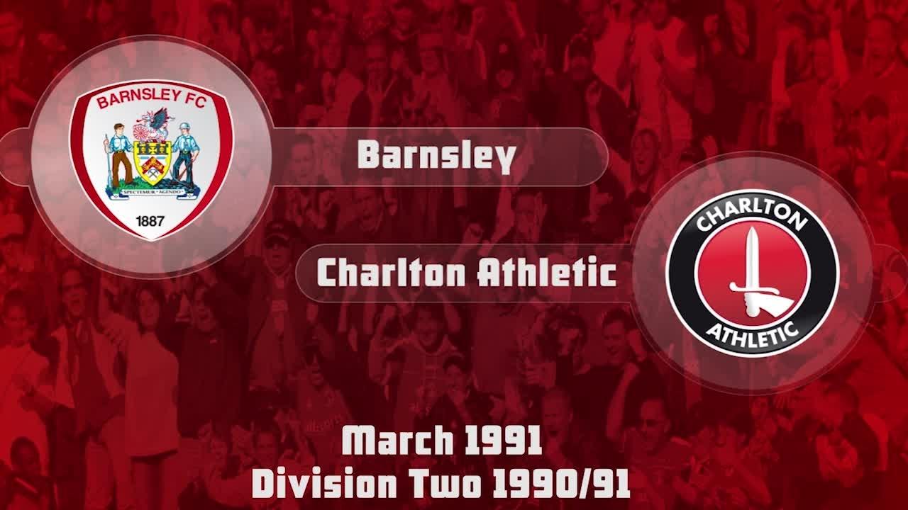 38 HIGHLIGHTS | Barnsley 1 Charlton 1 (March 1991)