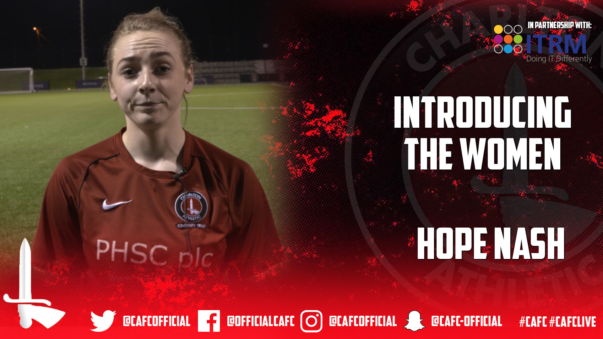 INTRODUCING THE WOMEN  | Hope Nash