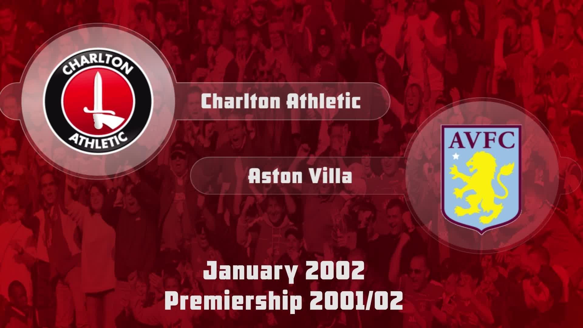 27 HIGHLIGHTS | Charlton 1 Aston Villa 2 (Jan 2002)