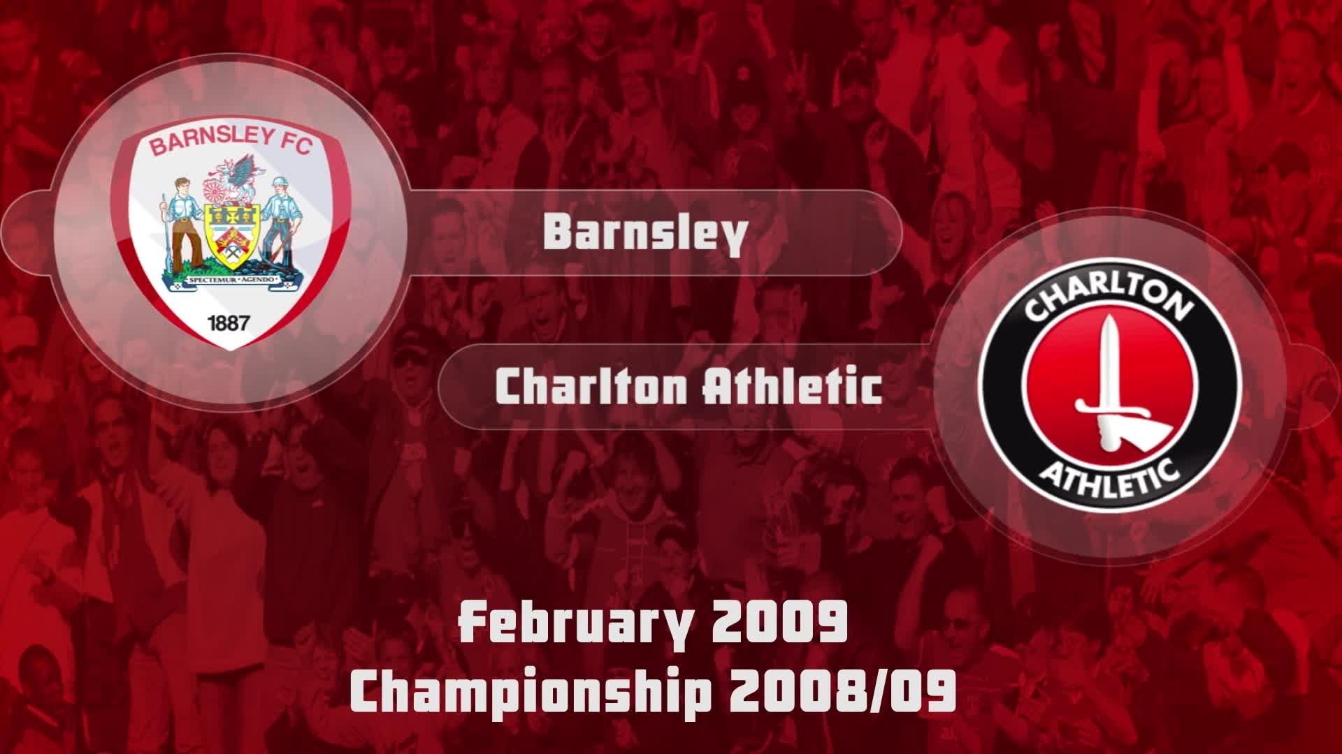 37 HIGHLIGHTS | Barnsley 0 Charlton 0 (Feb 2009)