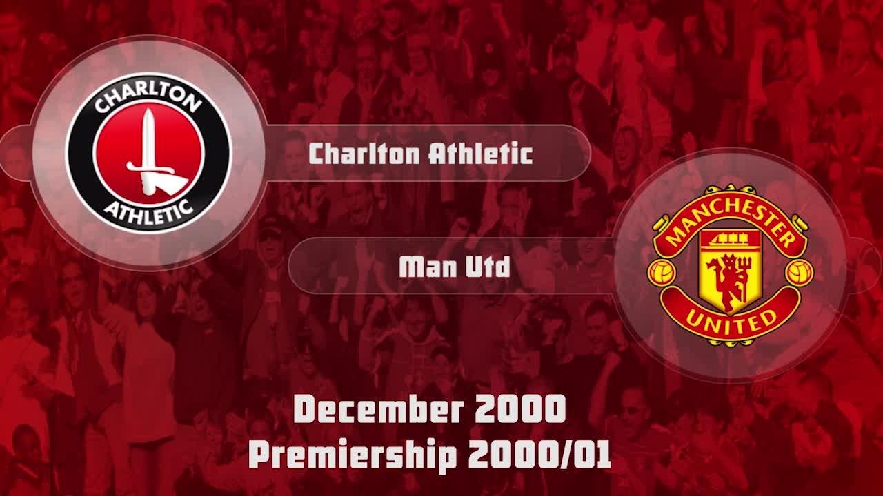 19 HIGHLIGHTS | Charlton 3 Man Utd 3 (Dec 2000)