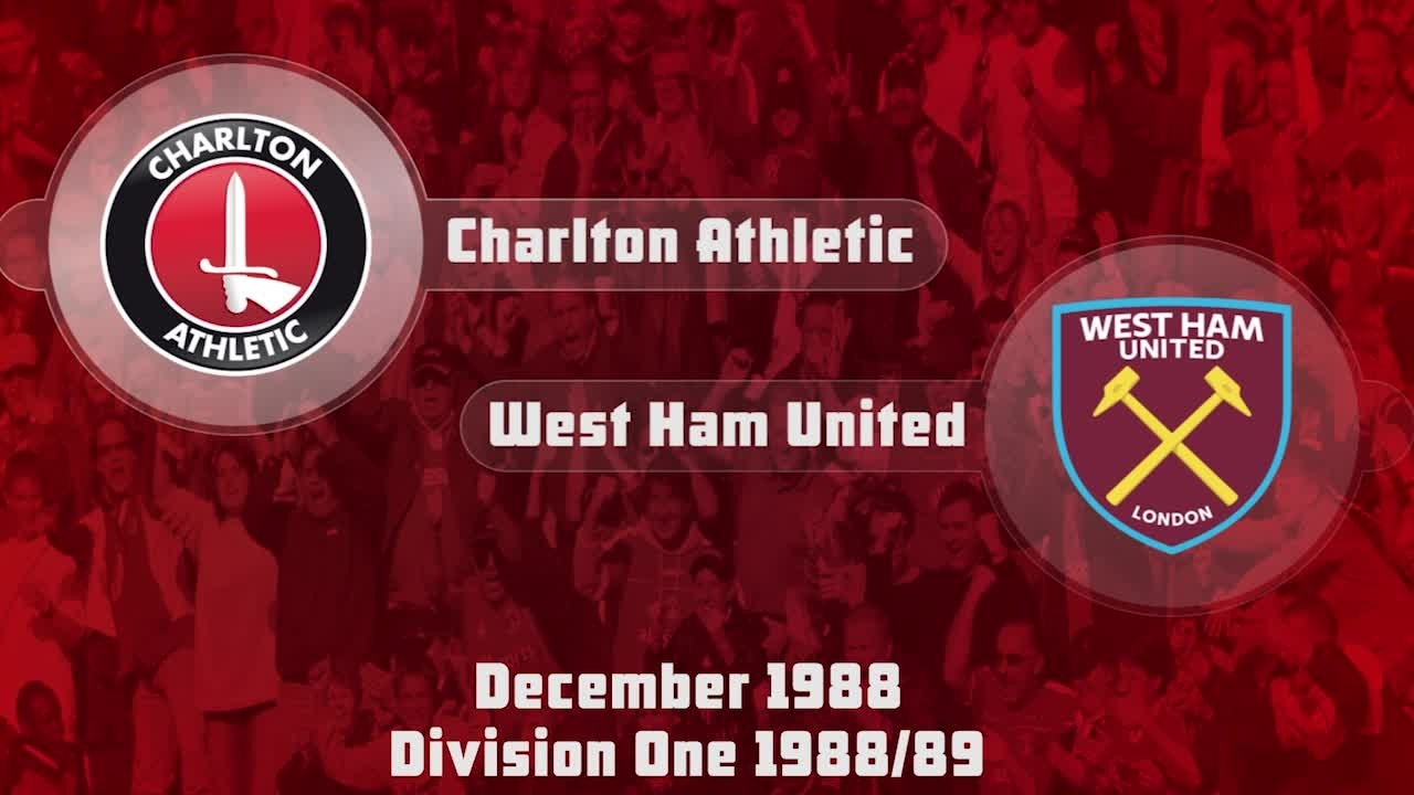 23 HIGHLIGHTS | Charlton 0 West Ham 0 (Dec 1988)
