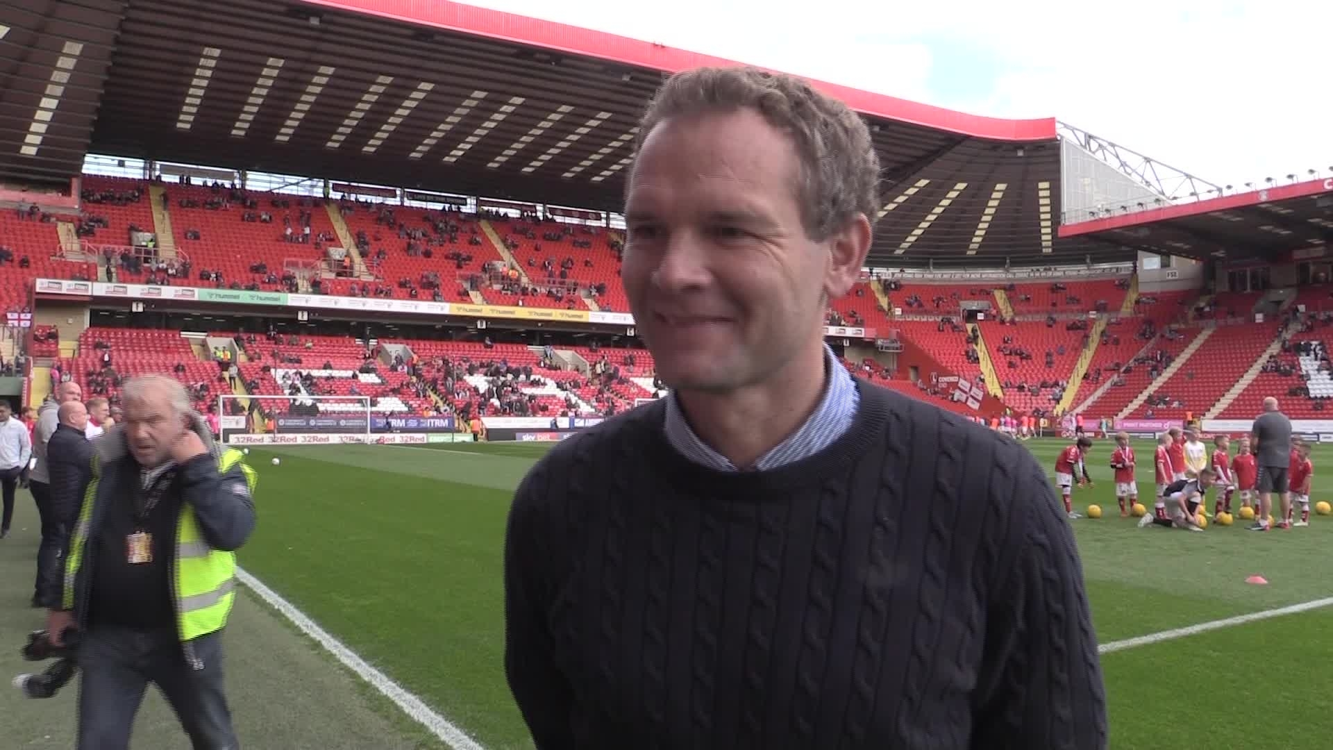 Jonatan Johansson on his time at Charlton (October 2019)