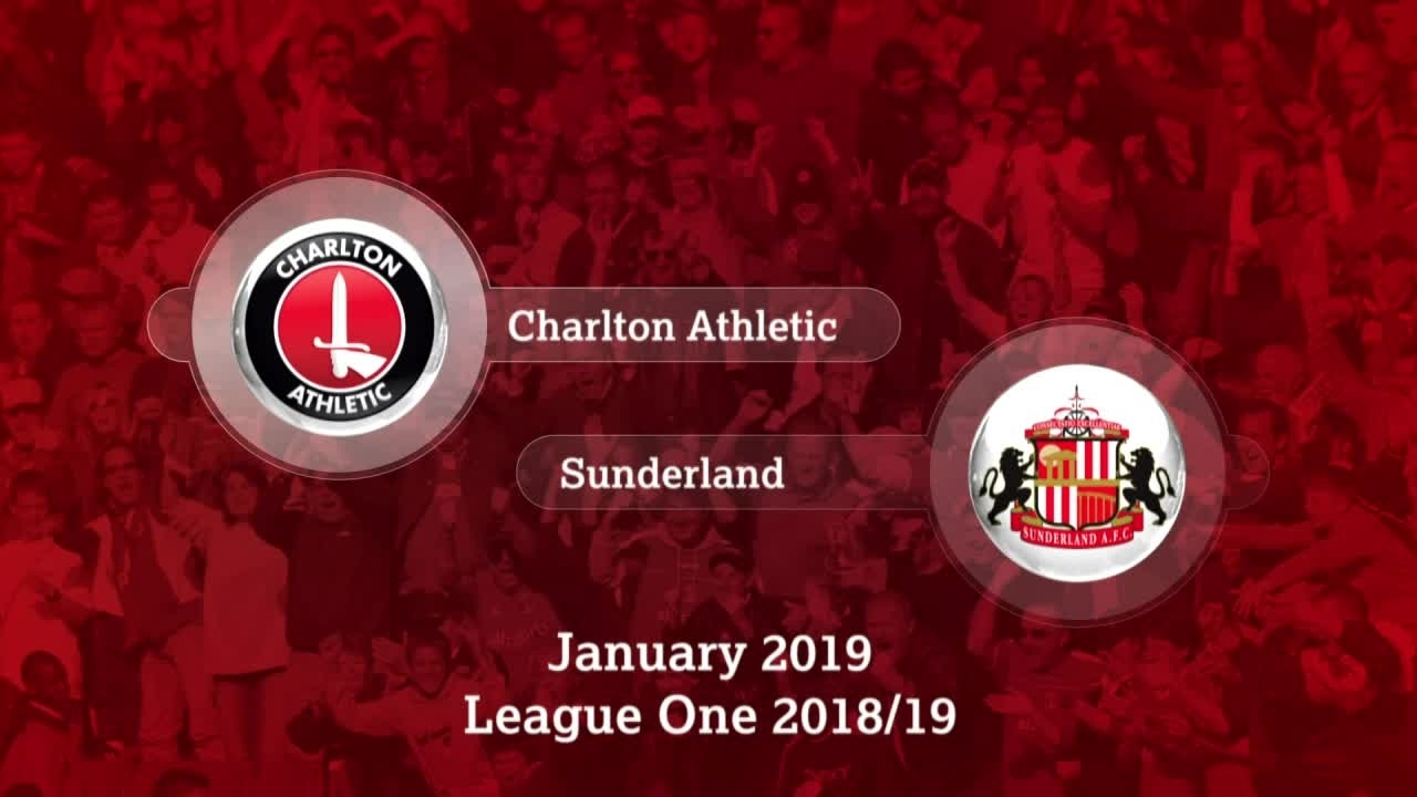 GOALS | Charlton 1 Sunderland 1 (January 2019)