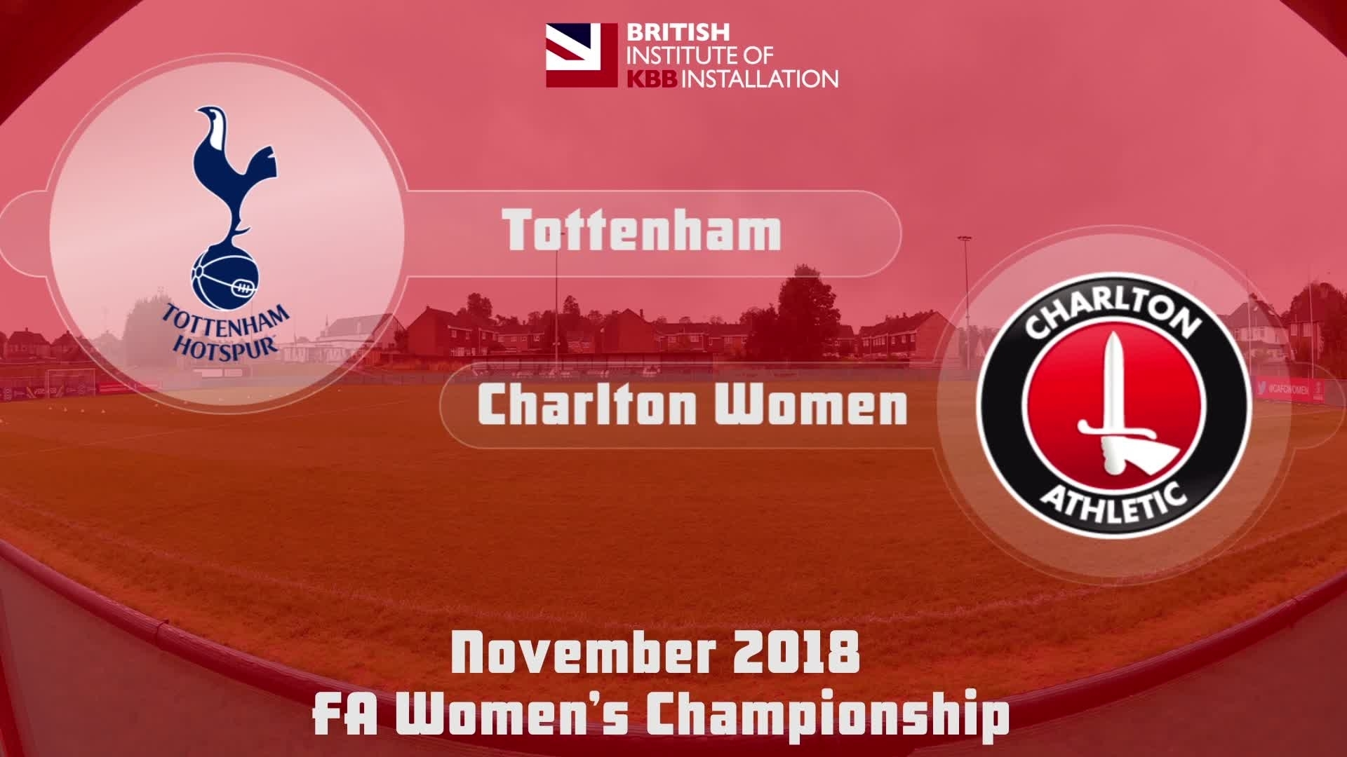 WOMEN HIGHLIGHTS | Tottenham 1 Charlton 0 (Nov 2018)