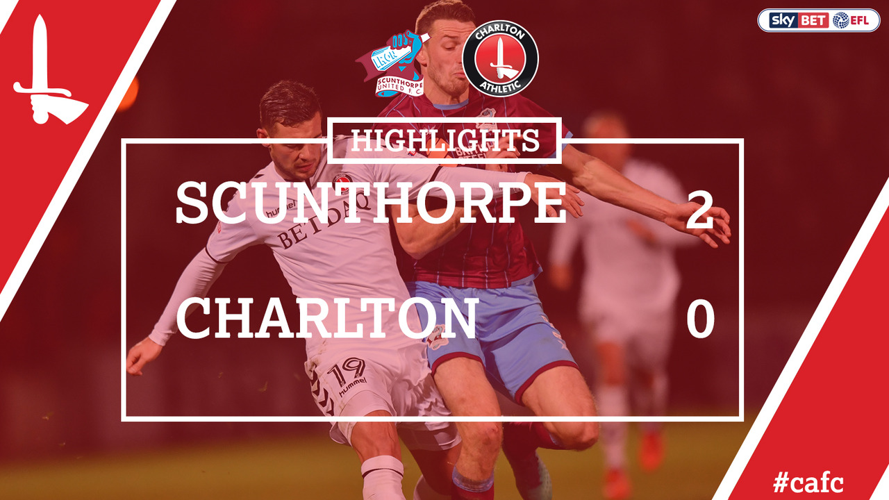 24 HIGHLIGHTS | Scunthorpe 2 Charlton 0 (Nov 2017)