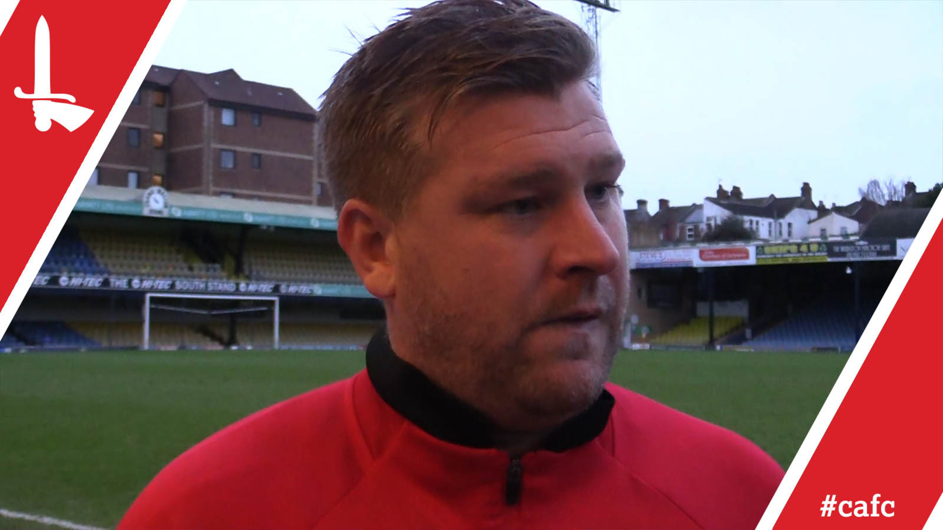 Robinson reflects on Southend United defeat