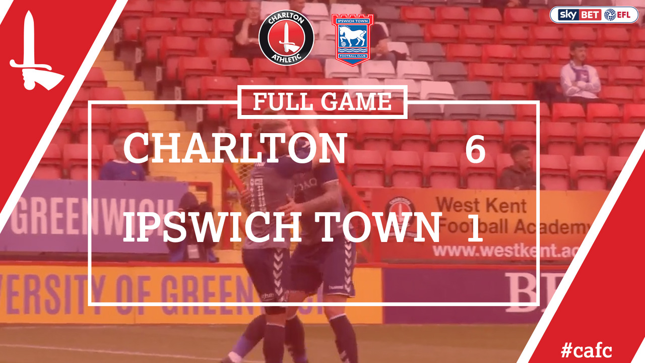 FULL GAME | Charlton 6 Ipswich 1