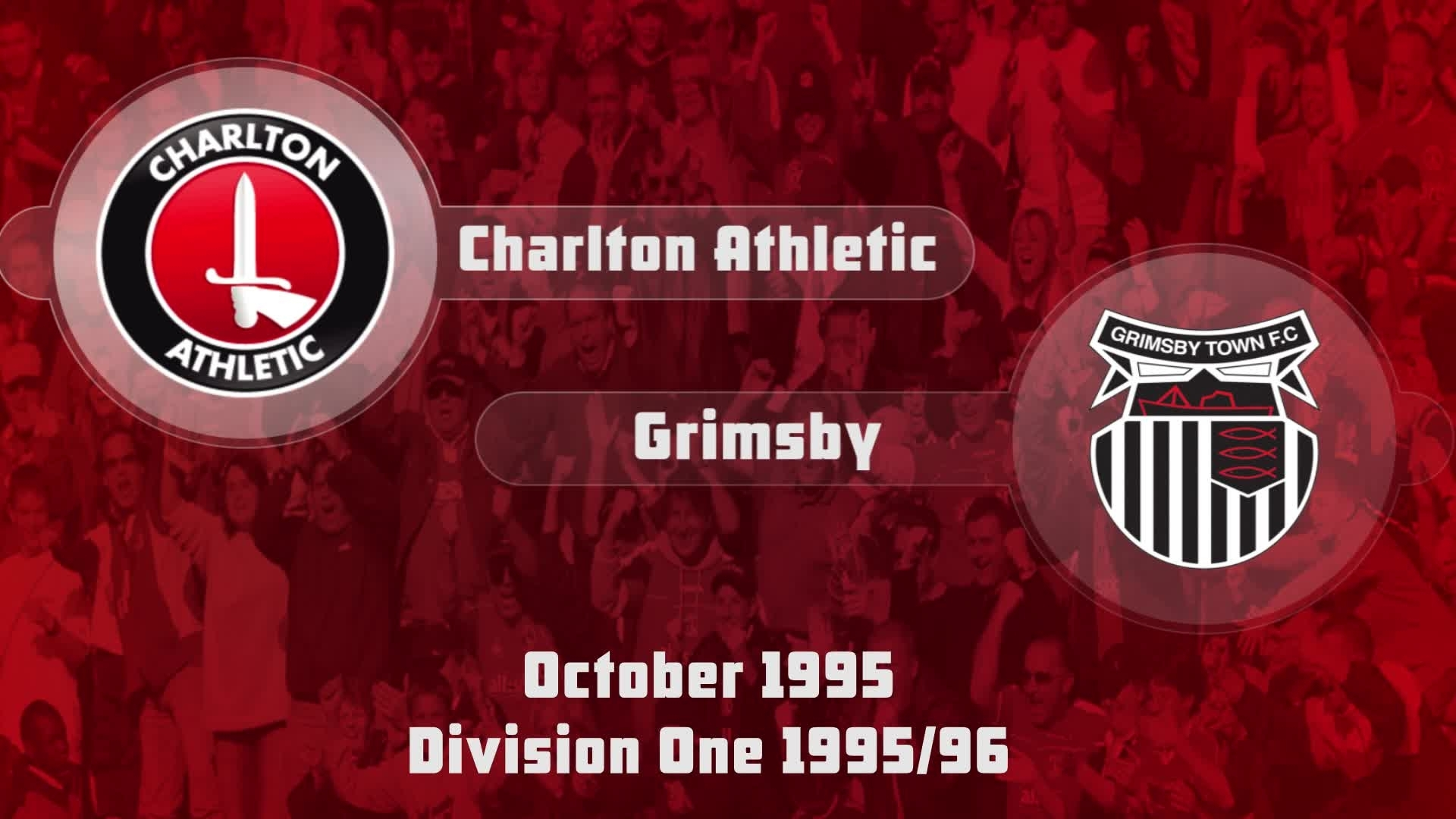 15 HIGHLIGHTS | Charlton 0 Grimsby 1 (Oct 1995)