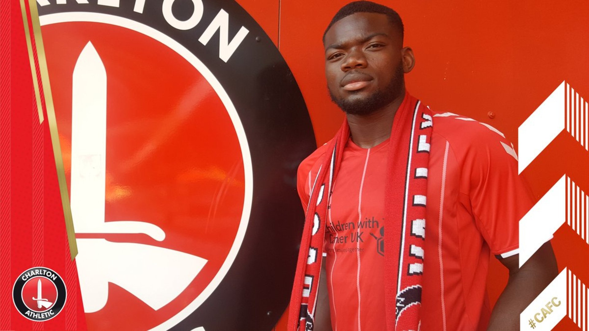 Deji Oshilaja's first Charlton interview
