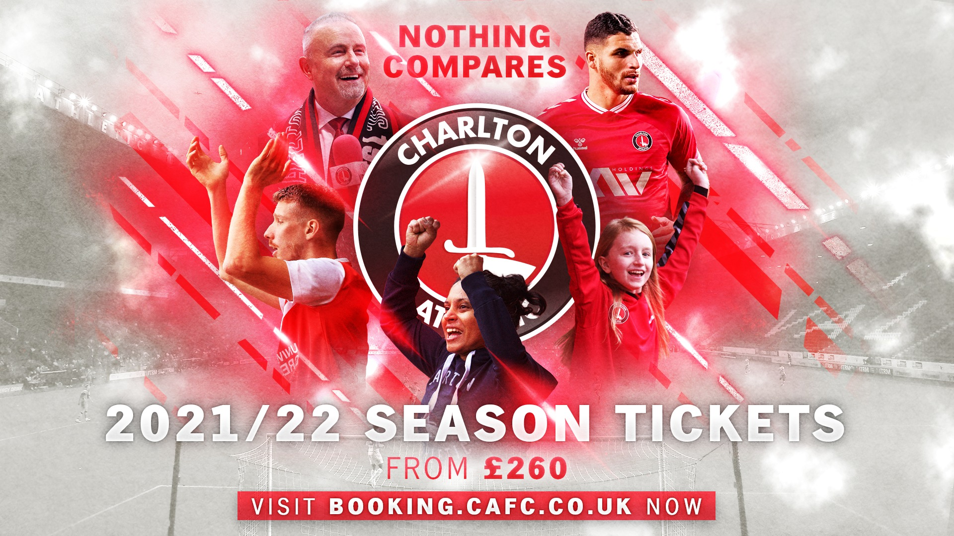 2021/22 season tickets to go on sale (May 2021)