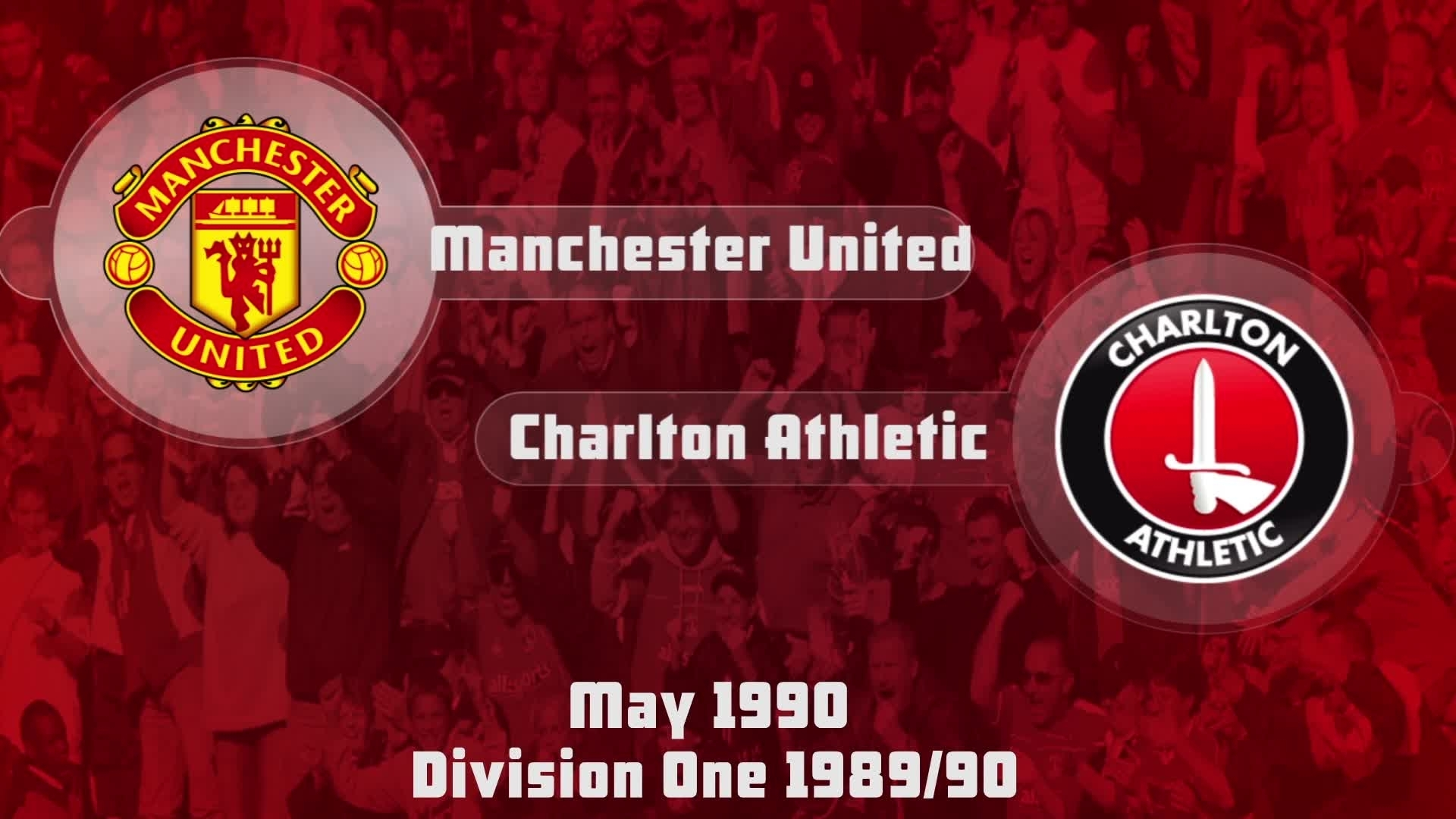 46 HIGHLIGHTS   Man Utd 1 Charlton 0 (May 1990)