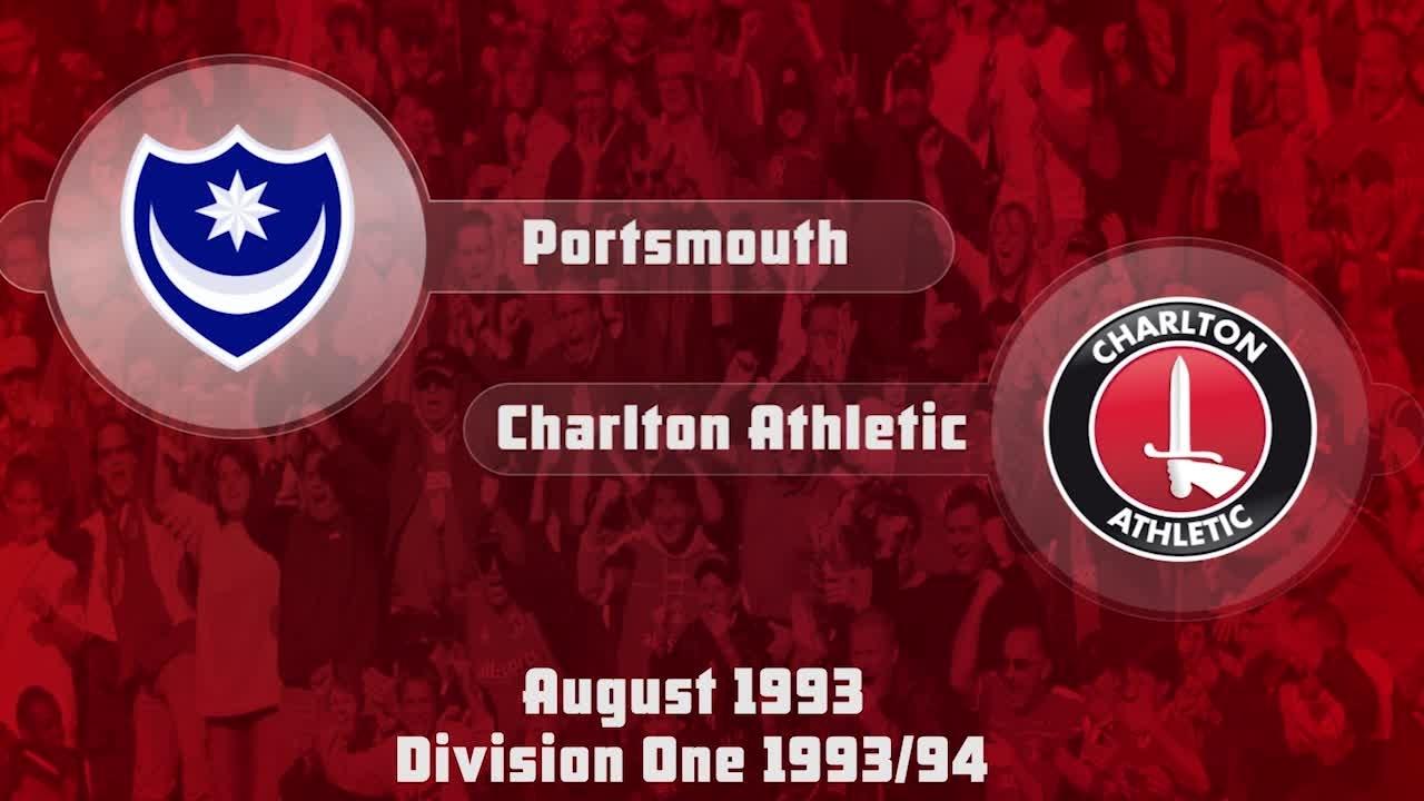 02 HIGHLIGHTS | Portsmouth 1 Charlton 2 (Aug 1993)