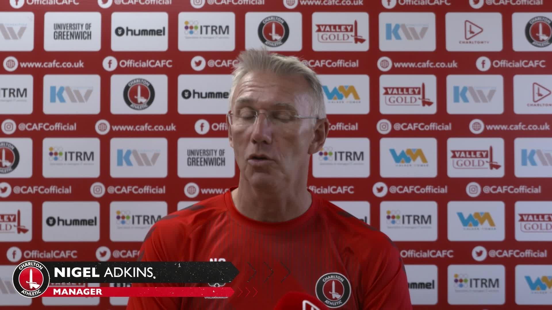 Nigel Adkins' pre-Wycombe press conference (September 2021)
